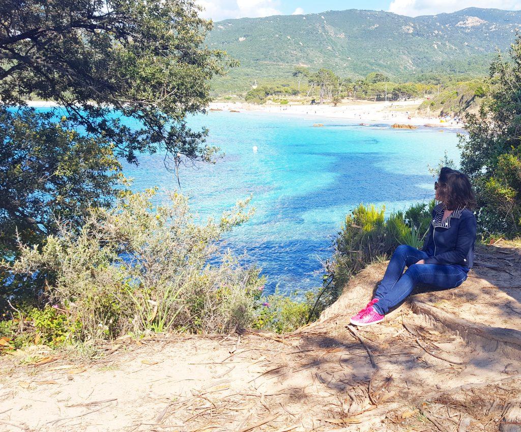 Plage de Mare e Sole, Corse, France.
