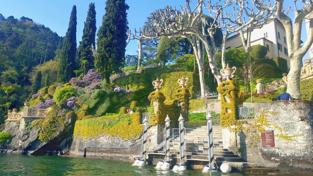 Lac de côme milan italie blog voyage clioandco villa balbianello stra wars