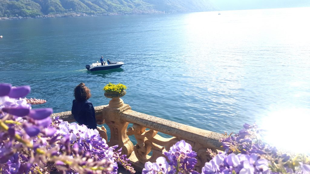 Lac de côme milan italie blog voyage clioandco vue sur le lac depuis la villa Balbianello