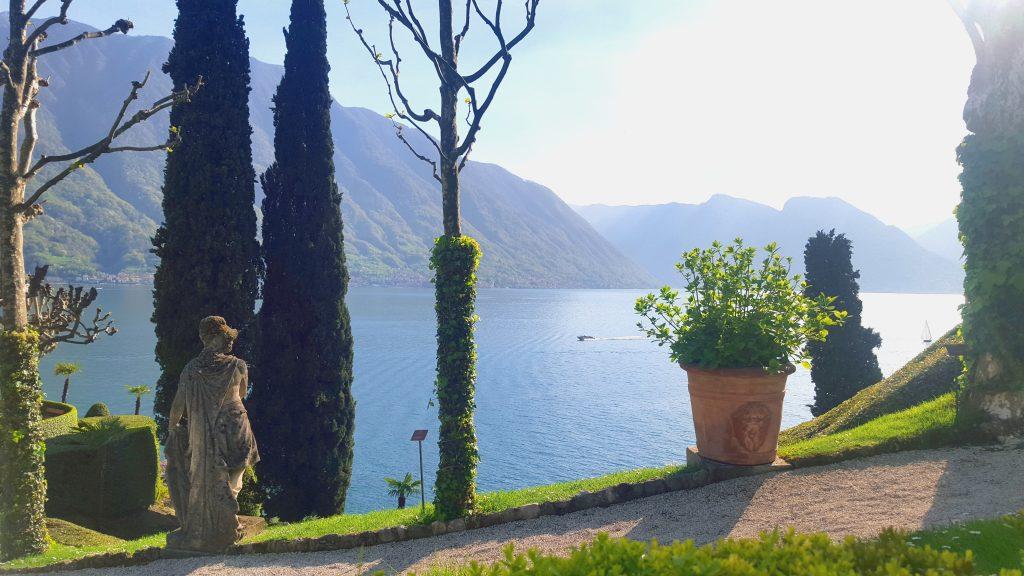 Lac de côme milan italie blog voyage clioandco jardin villa balbianello