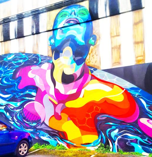 street art limerick irlande