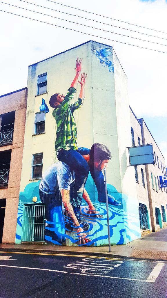 irlande voyage street art limerick