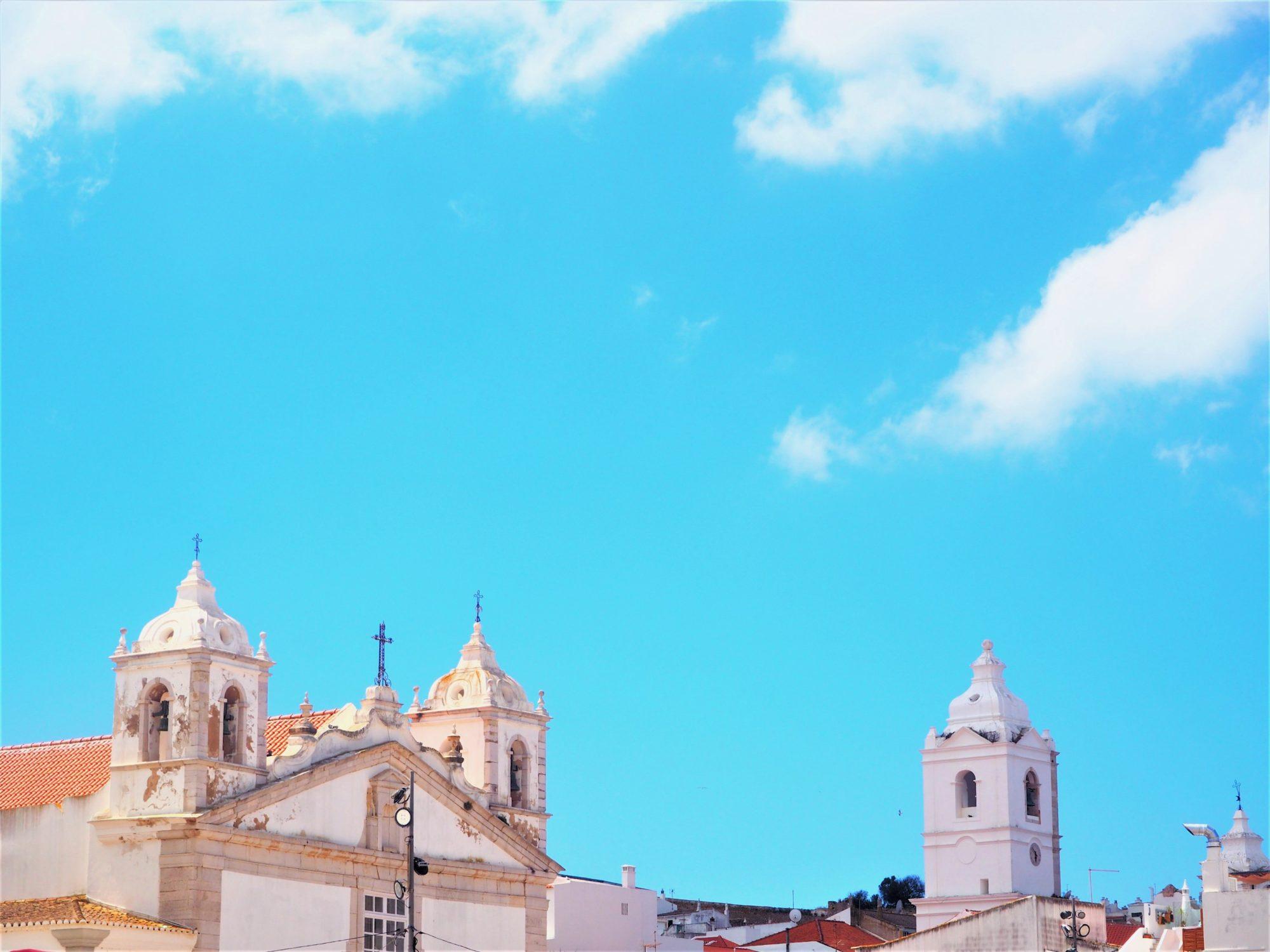 Algarve Portugal Lagos automne
