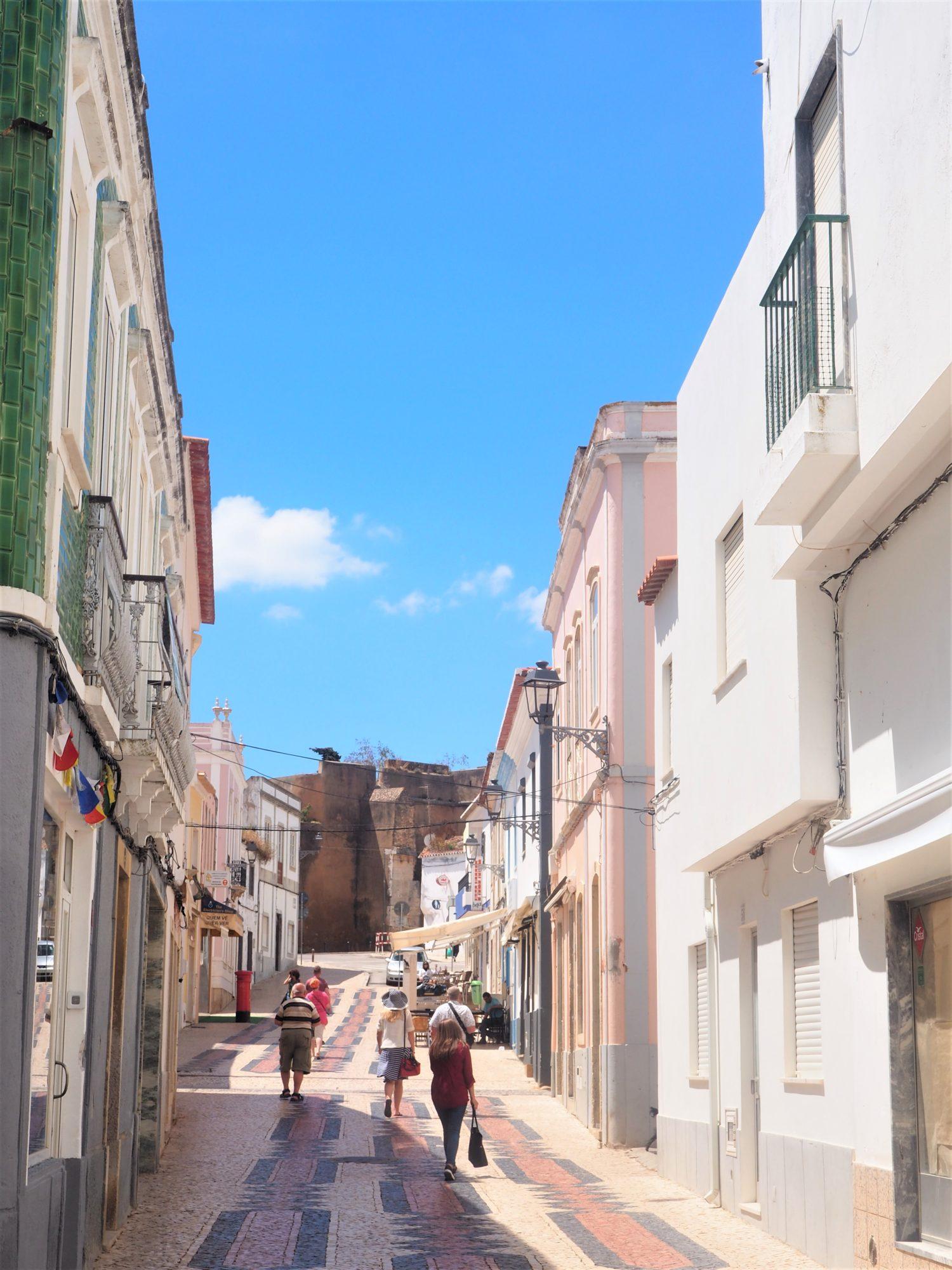Algarve Portugal Lagos automne ruelle
