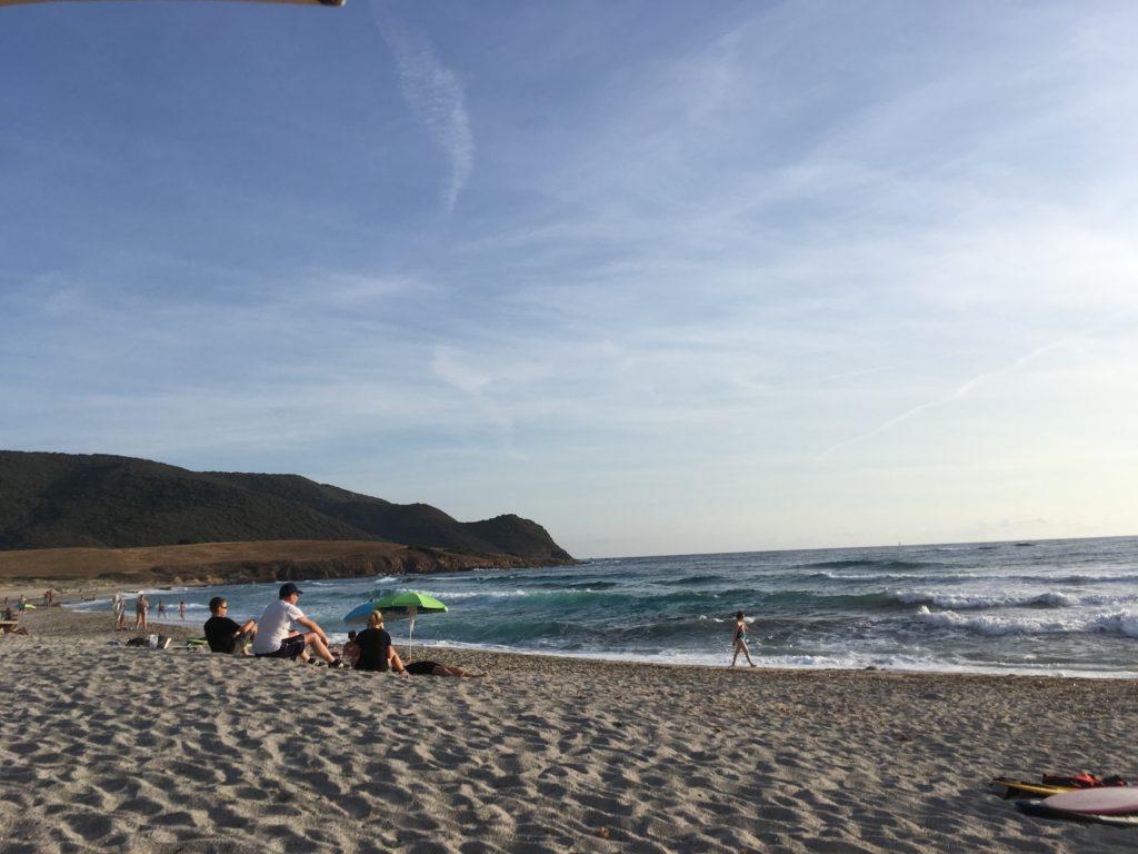 Ajaccio plage de Little Capo, Capo di Feno, France