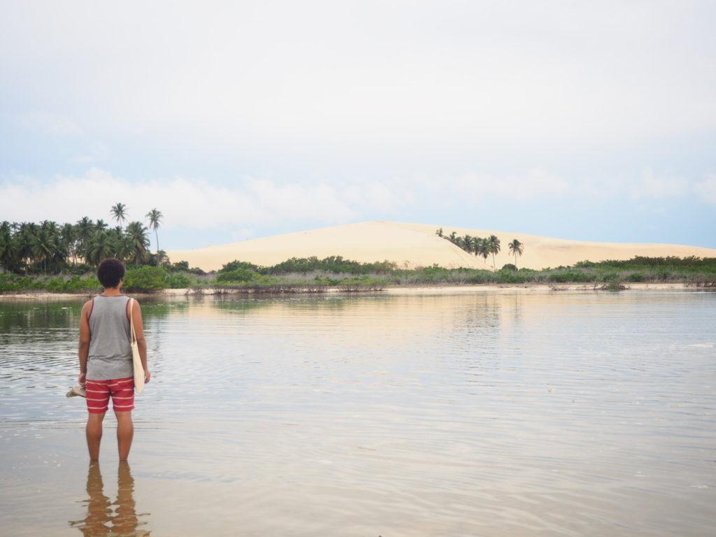 Promenade dans les dunes, Jericoacoara, Ceara, Brésil