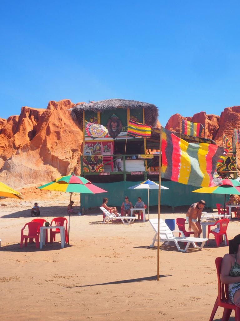 La Plage de Canoa Quebrada, près de Fortaleza et ses paillotes Hippies !