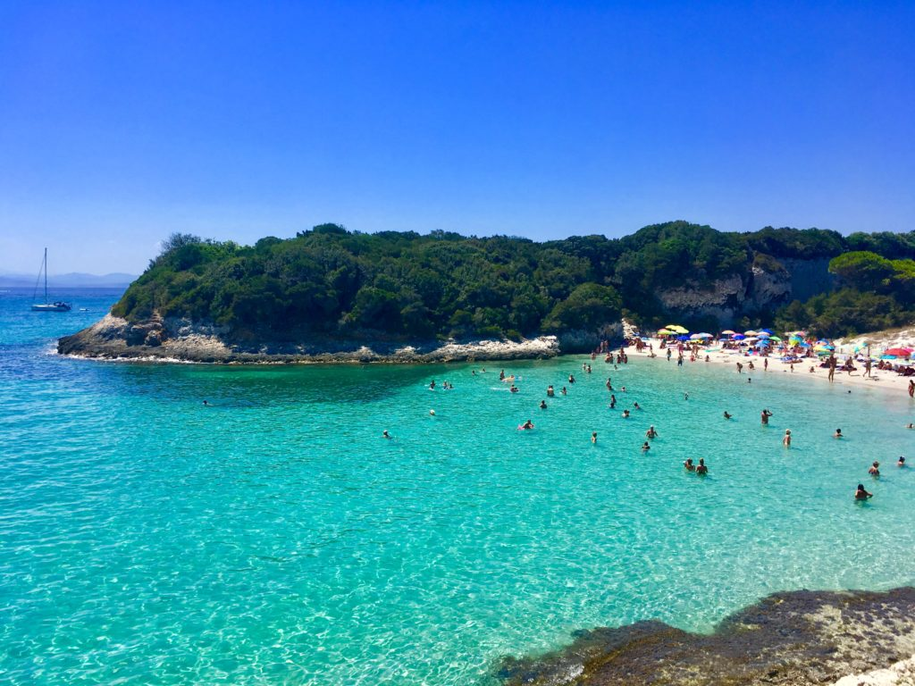 Plage du Petit Sperone, Corse, France