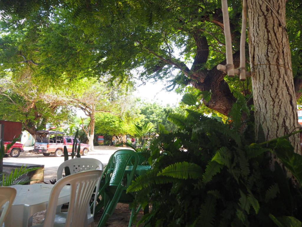 Restaurant avec Prato Feito à Jericoacoara, Céara, Brésil