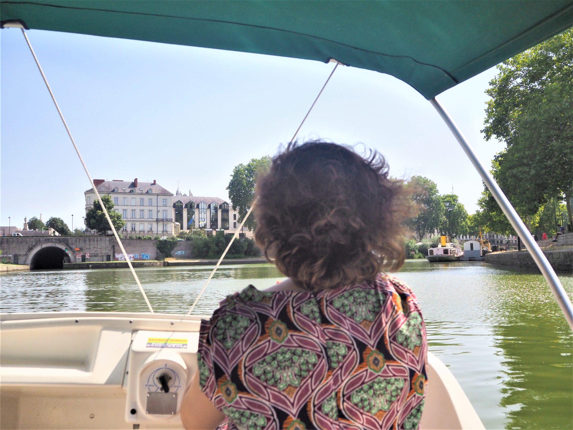 Nantes bateau Ruban Vert location