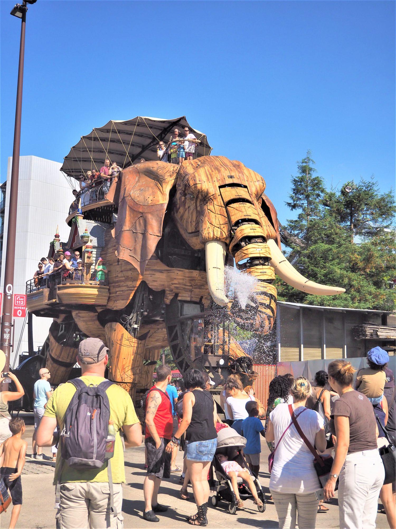 Elephant les machines de Nantes
