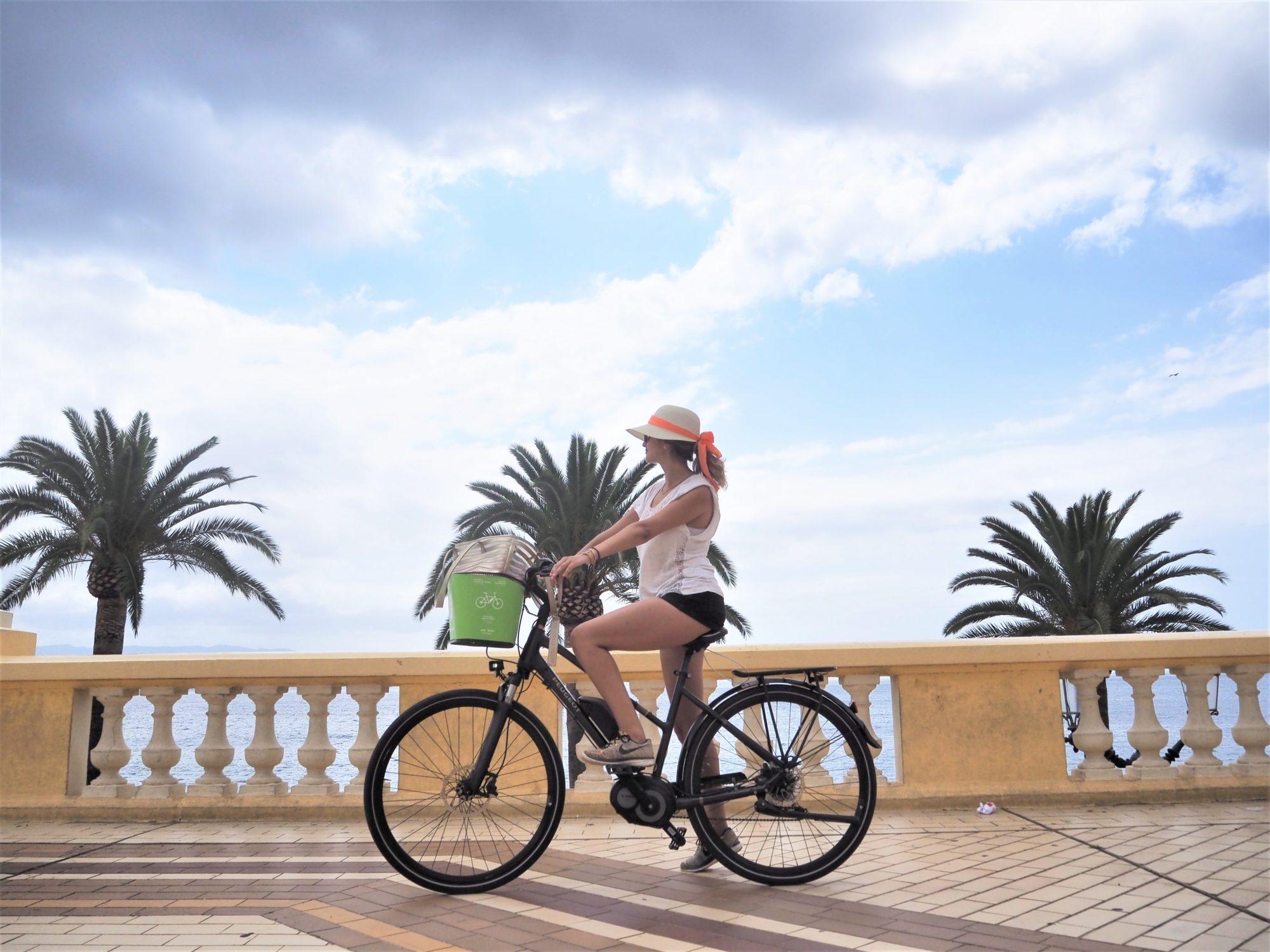 Vélo électrique AppeBike, Panier, Ajaccio Corse France. Place du Diamant