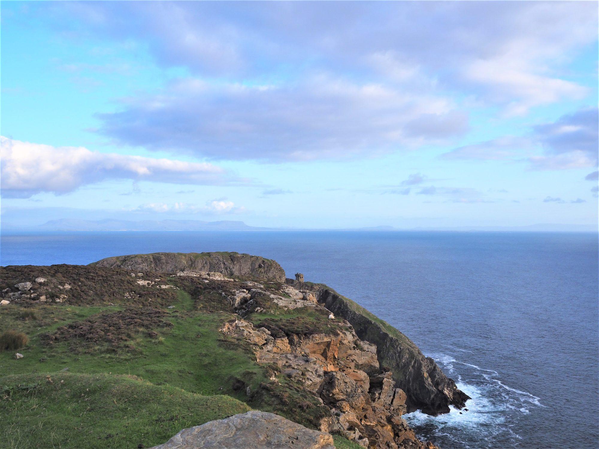 Voyage en Irlande, Comté de Donegal, sur le chemin de Slieve League