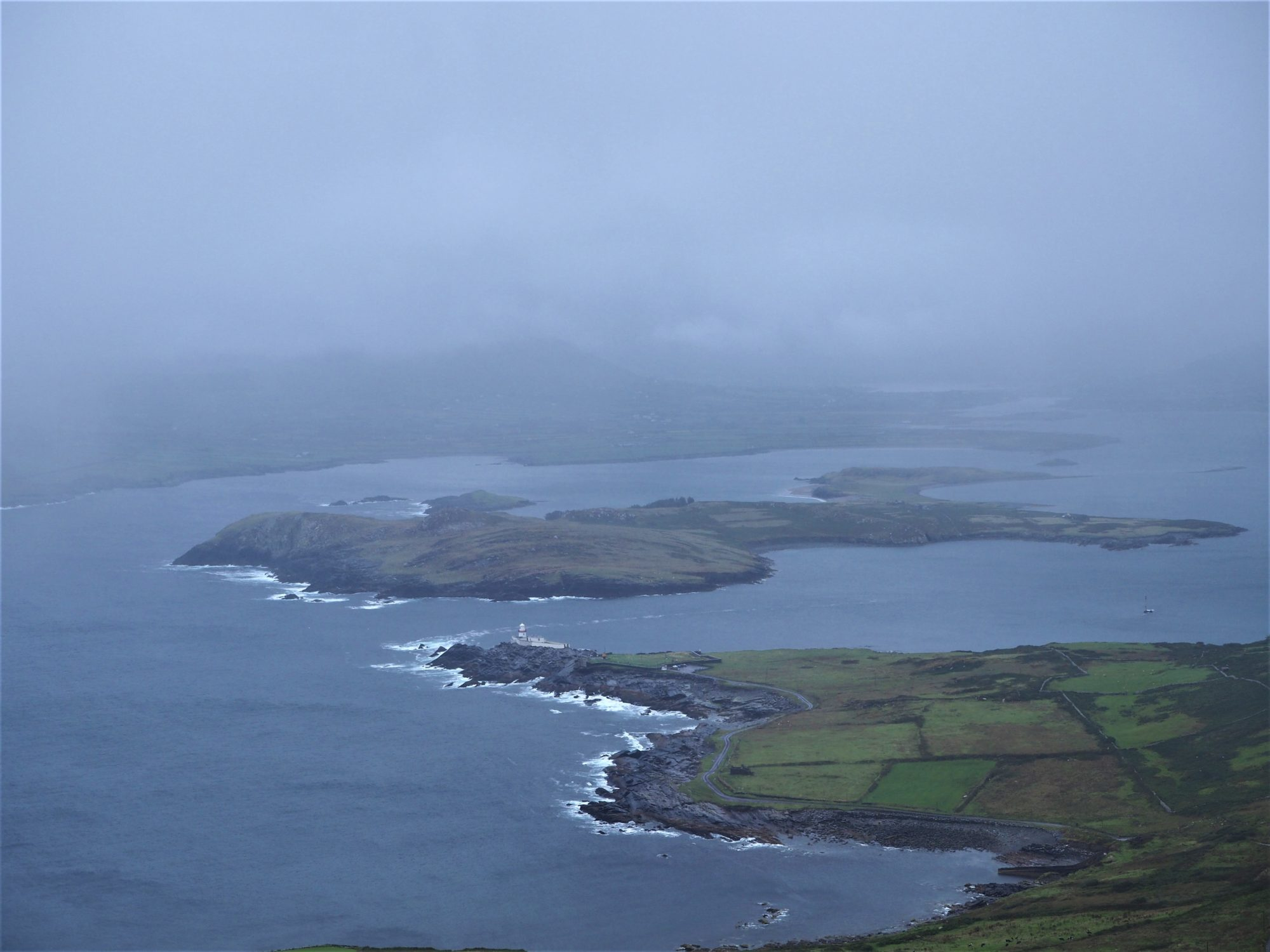 Le phare de Valentia island, Kerry, Irlande