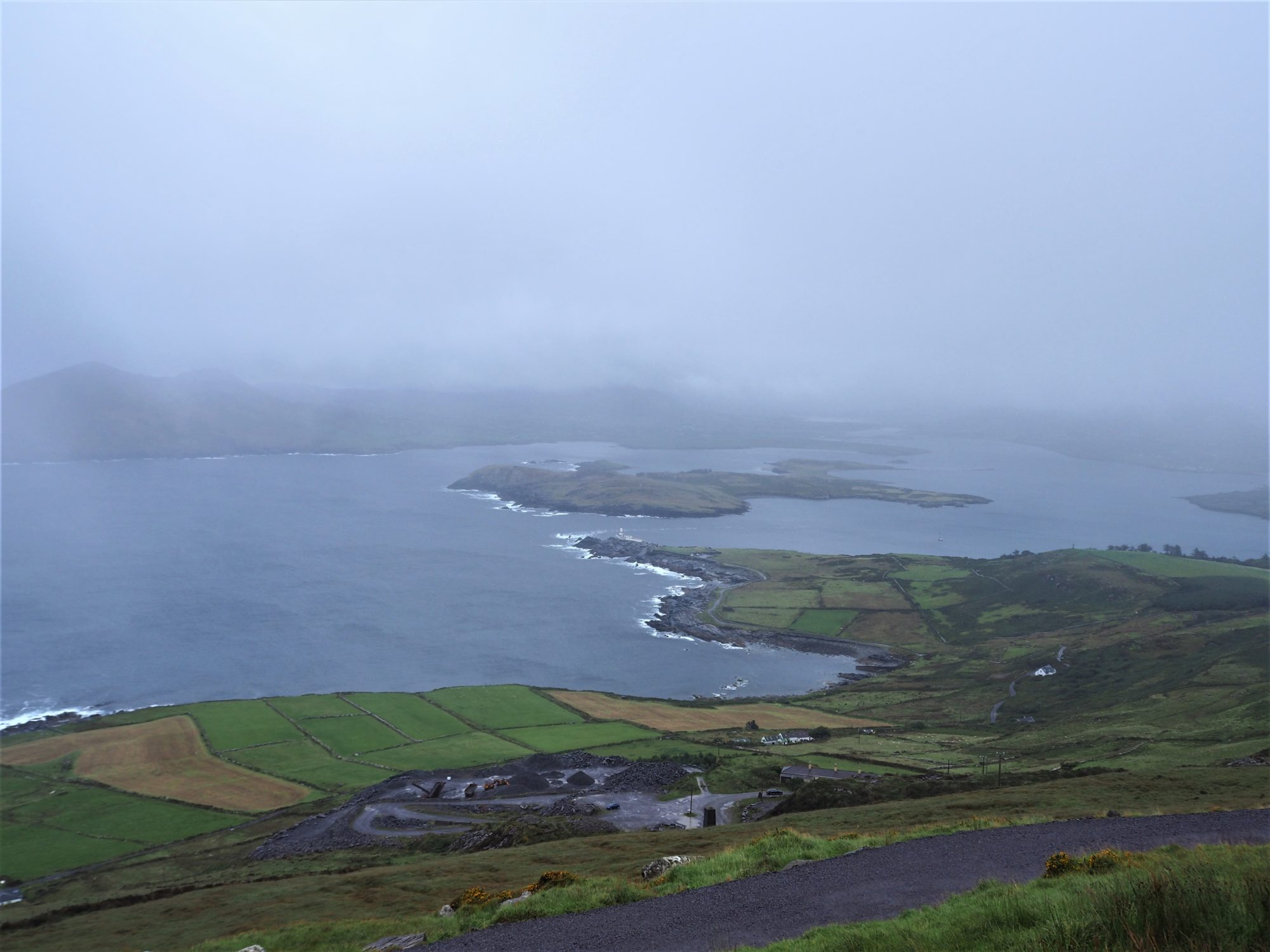 Valentia Island, Ring of kerry, Irlande Vue sur le phare