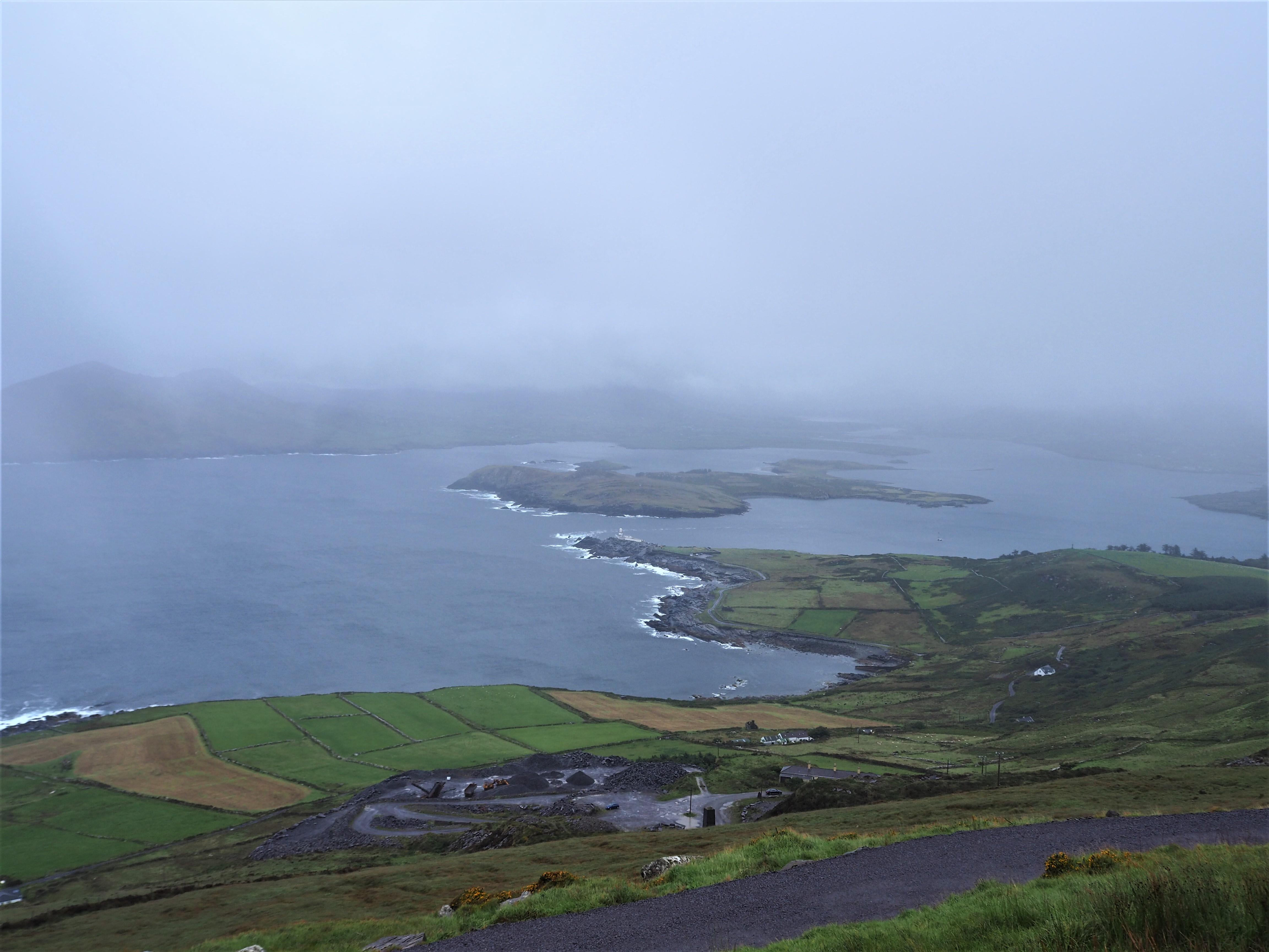 Valentia Island, Ring of kerry, Irlande Vue sur le phare