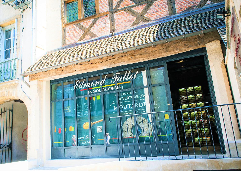 Moutarderie Edmond Fallot clioandco Dijon