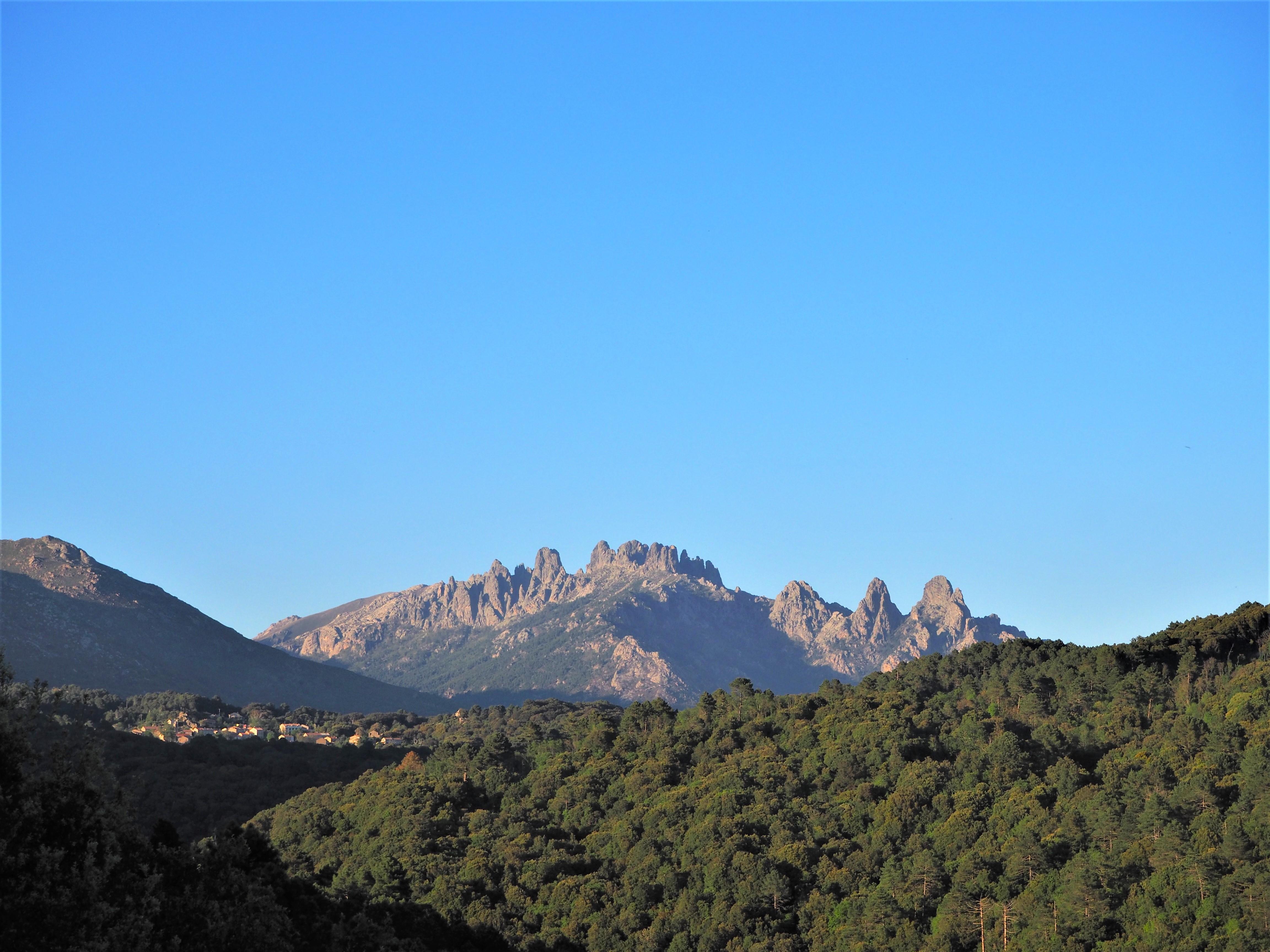 Aiguille de Bavella alta rocca GR20