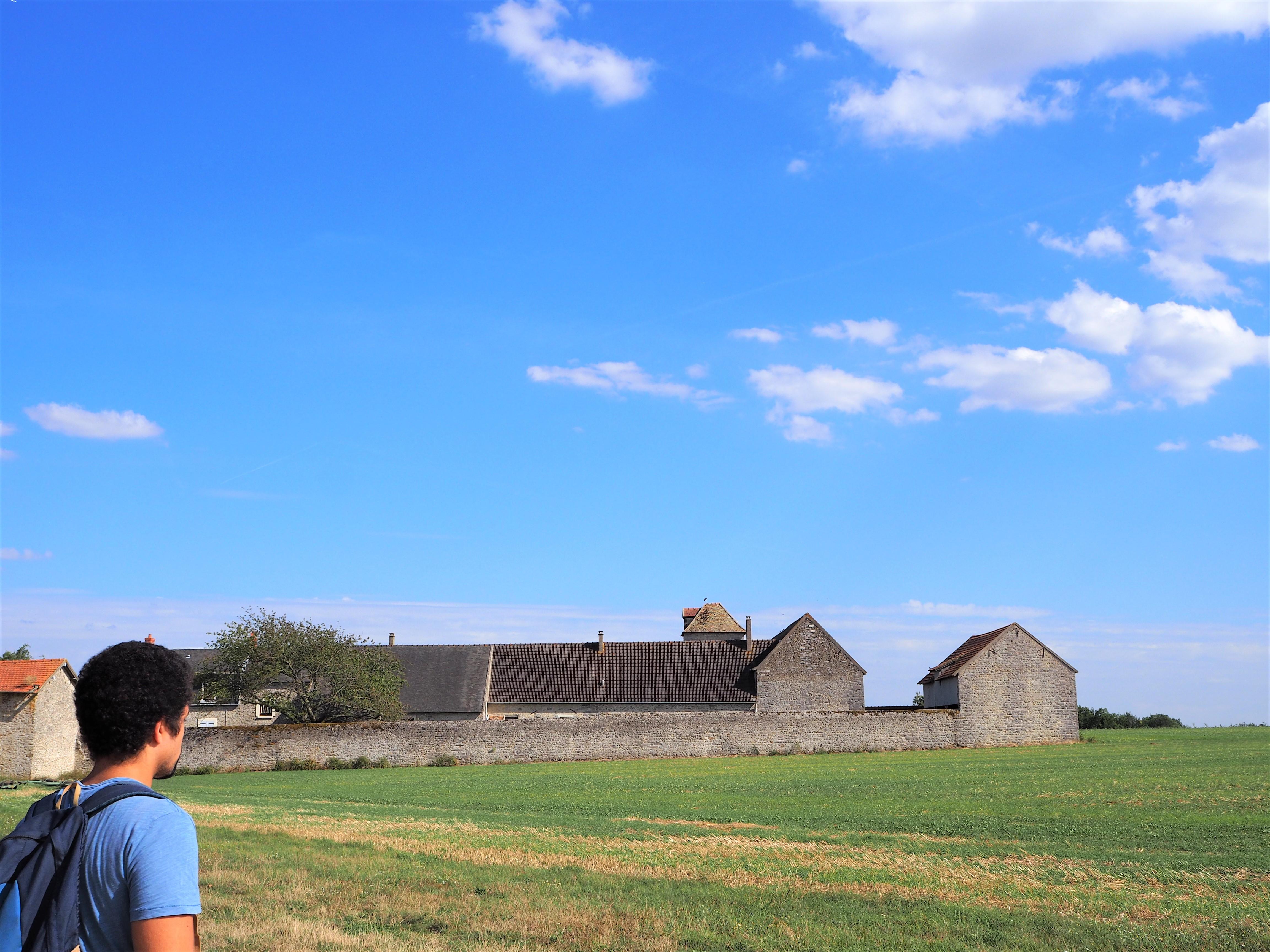 application visorando pour randonner autour de Paris ferme agricole