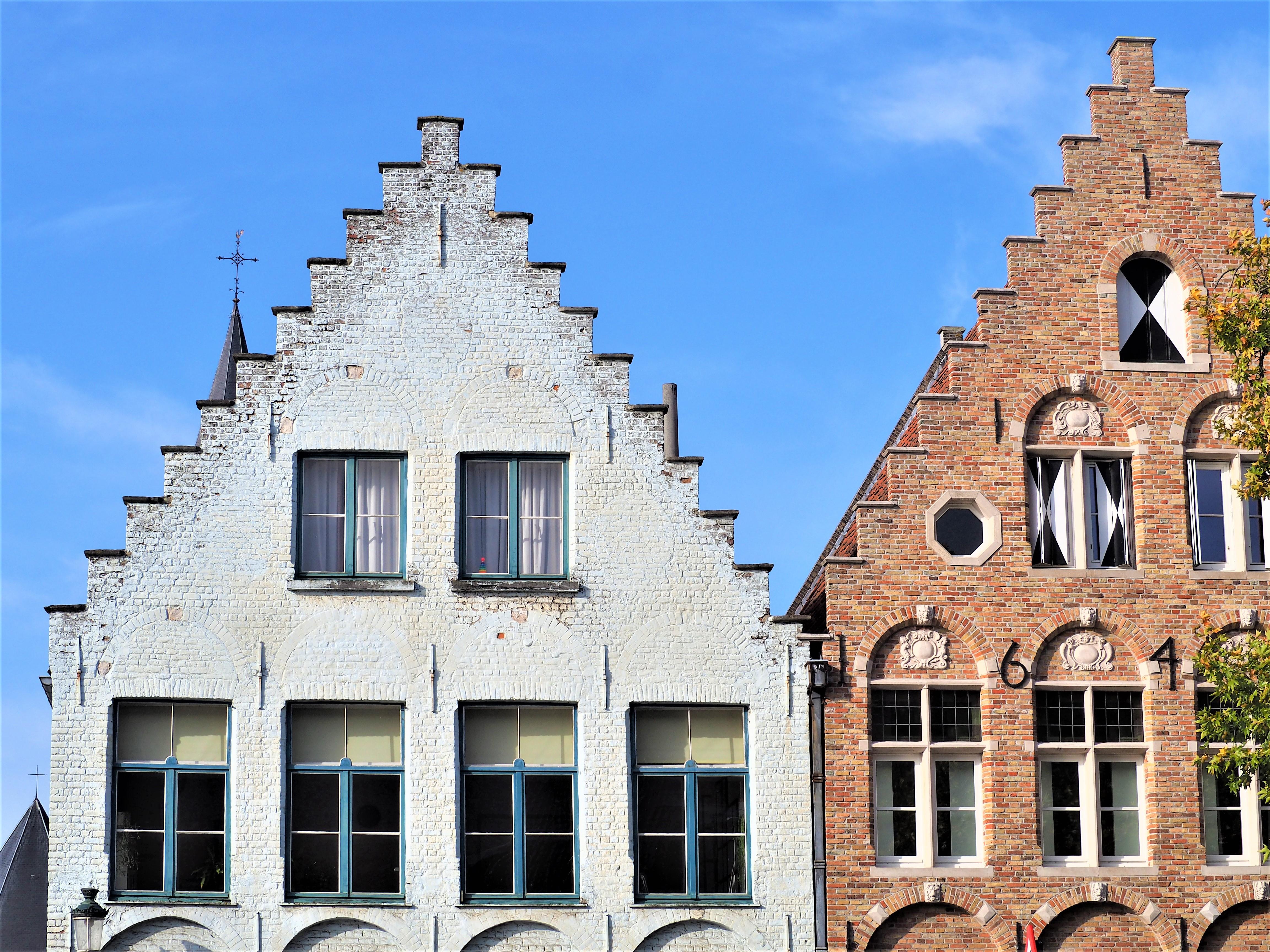 Bruges-Belgique-Blog-voyage-Clioandco- maisons architecture