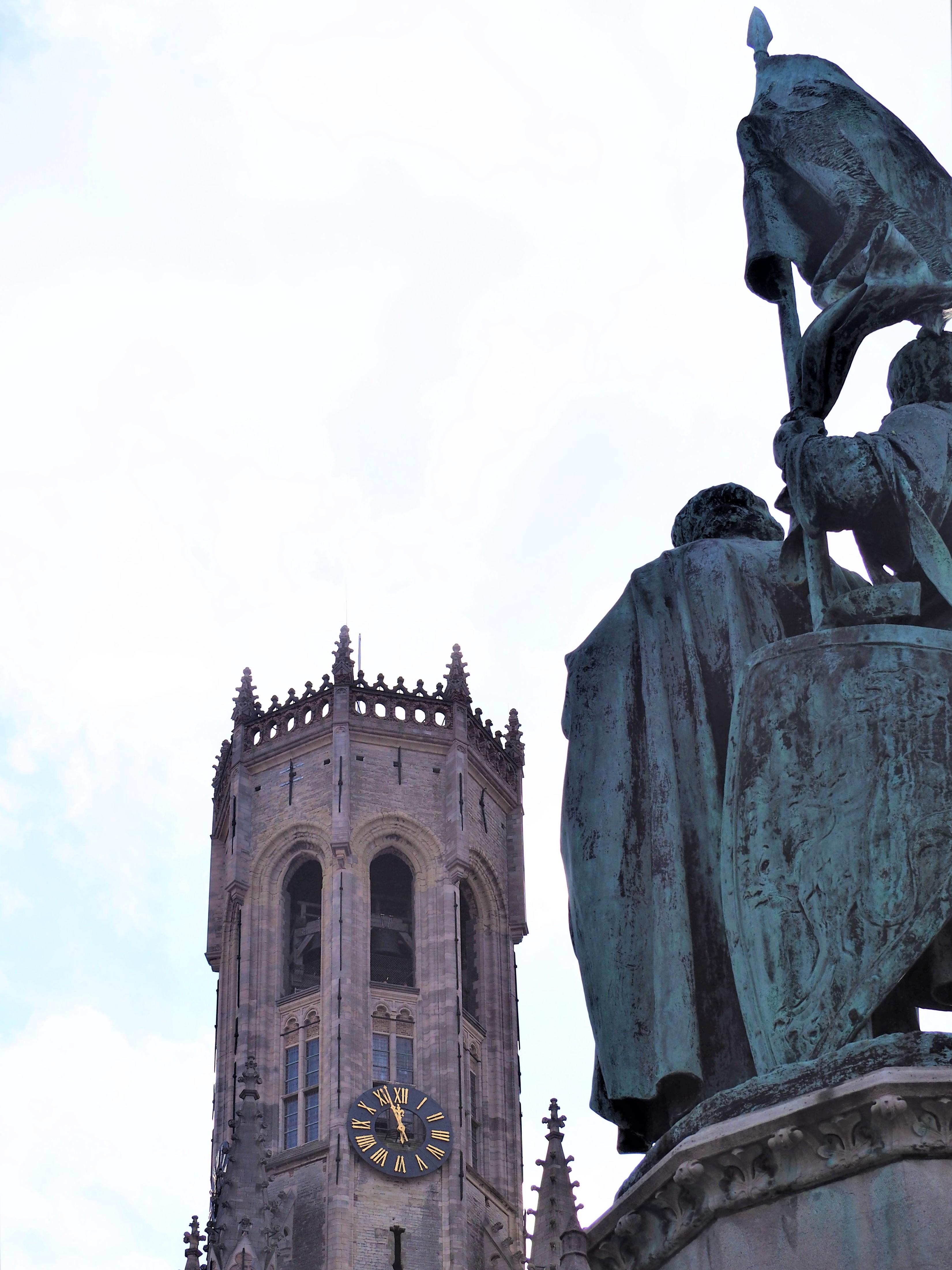 Bruges-Belgique-Blog-voyage-Clioandcode-Bruges-Beffroi