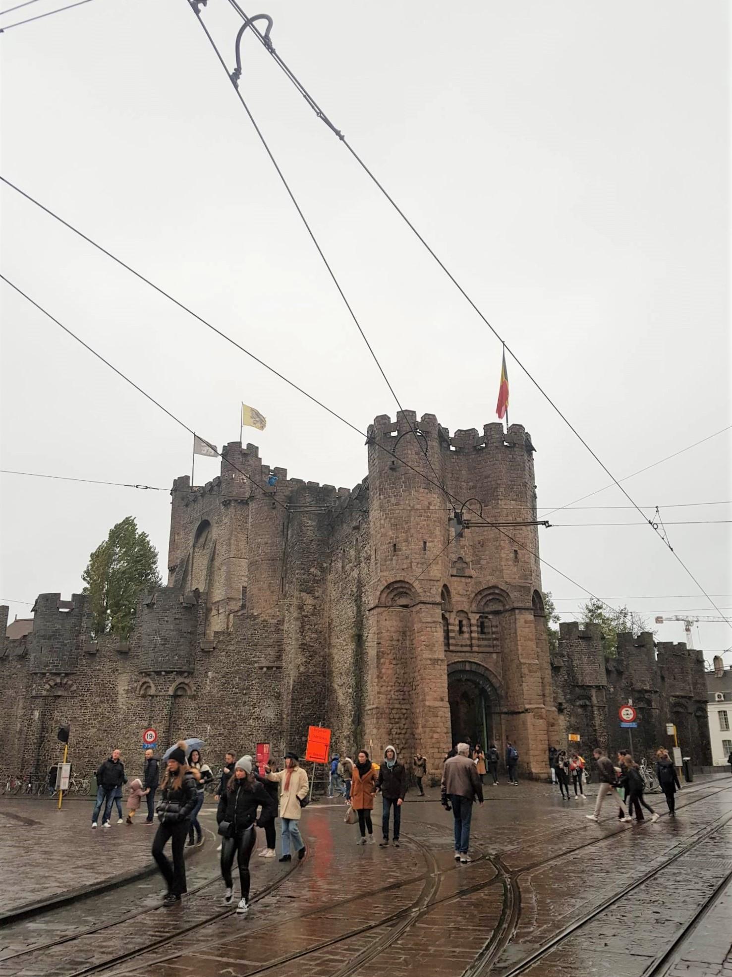 Chateau des Comtes de Flandres Visiter Gand Belgique clioandco blog voyage