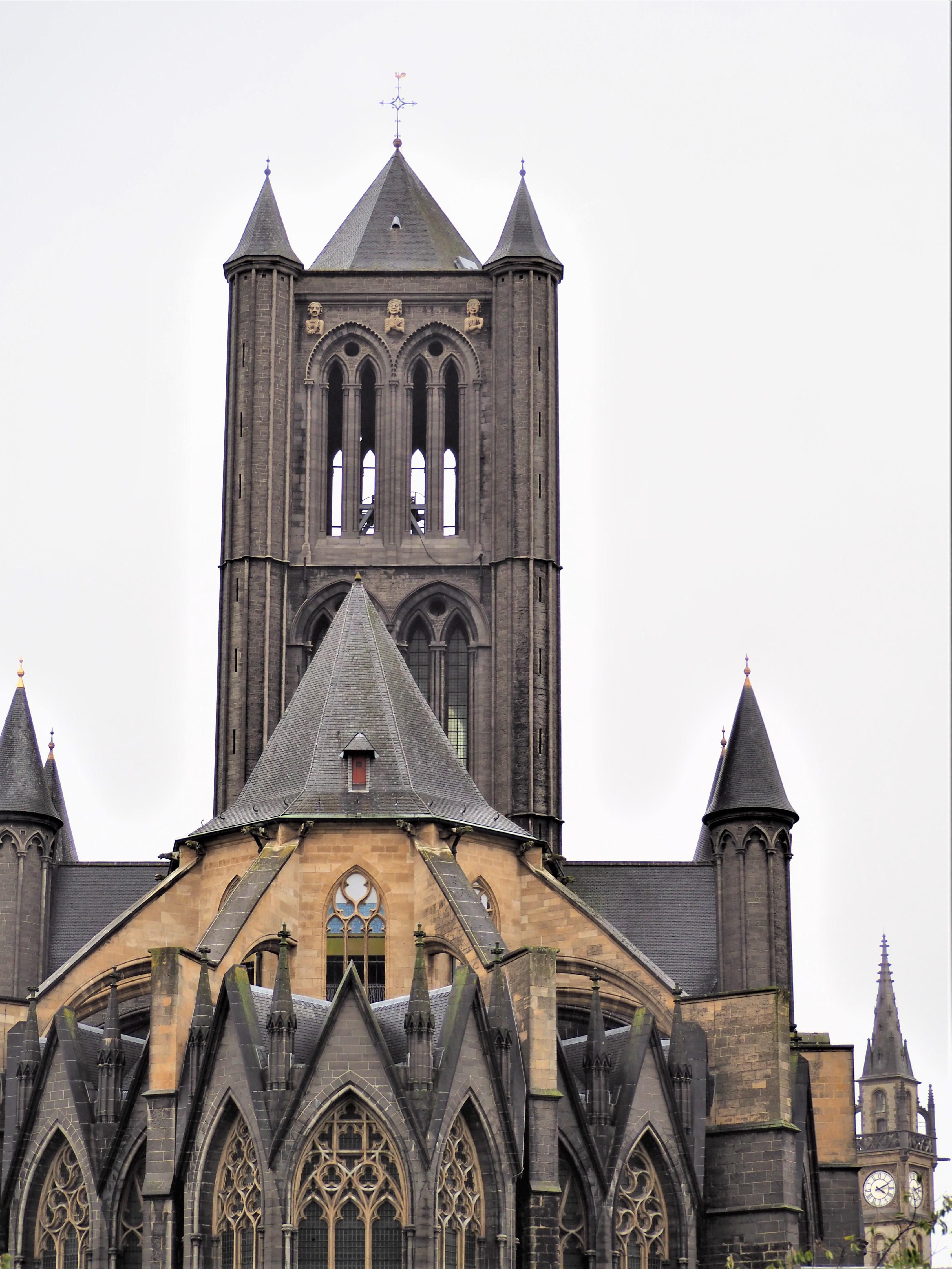 Gand Belgique Eglise Saint Nicolas clioandco blog voyage vue de derrière