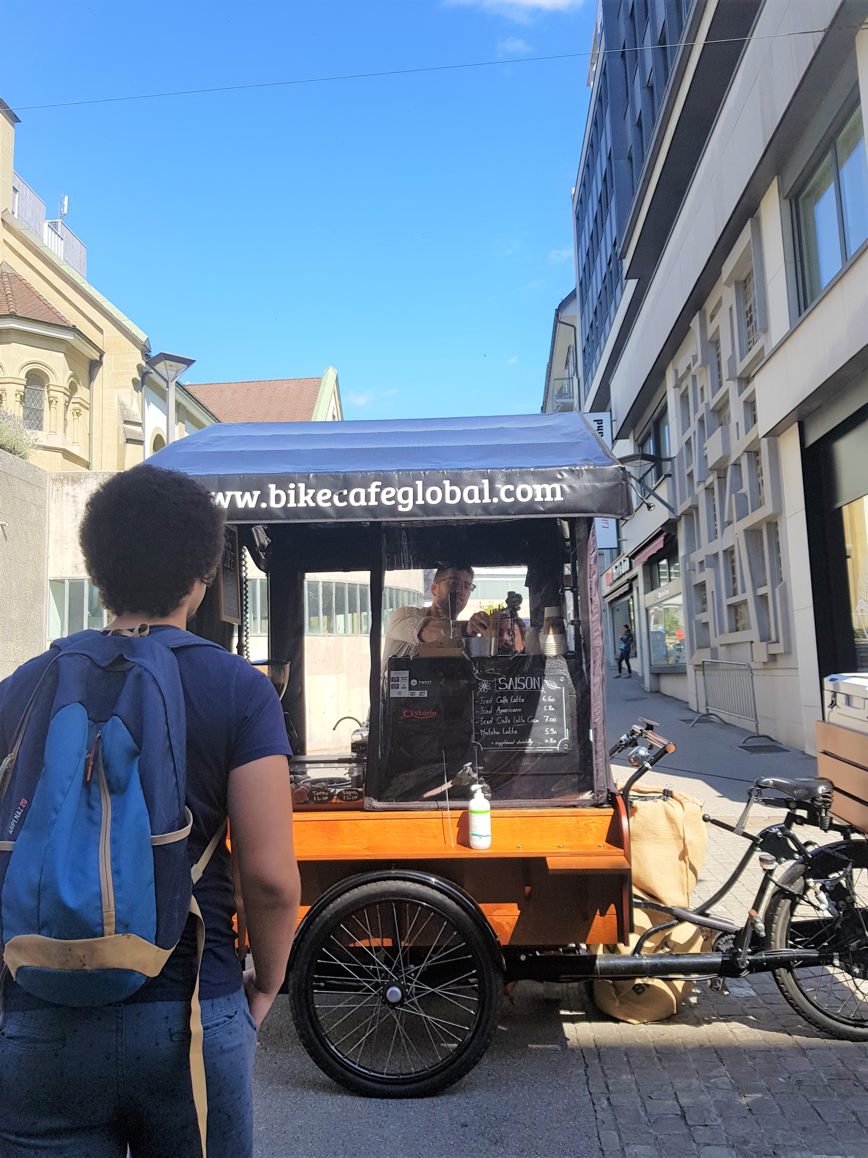 Fribourg bike café global clioandco blog voyage