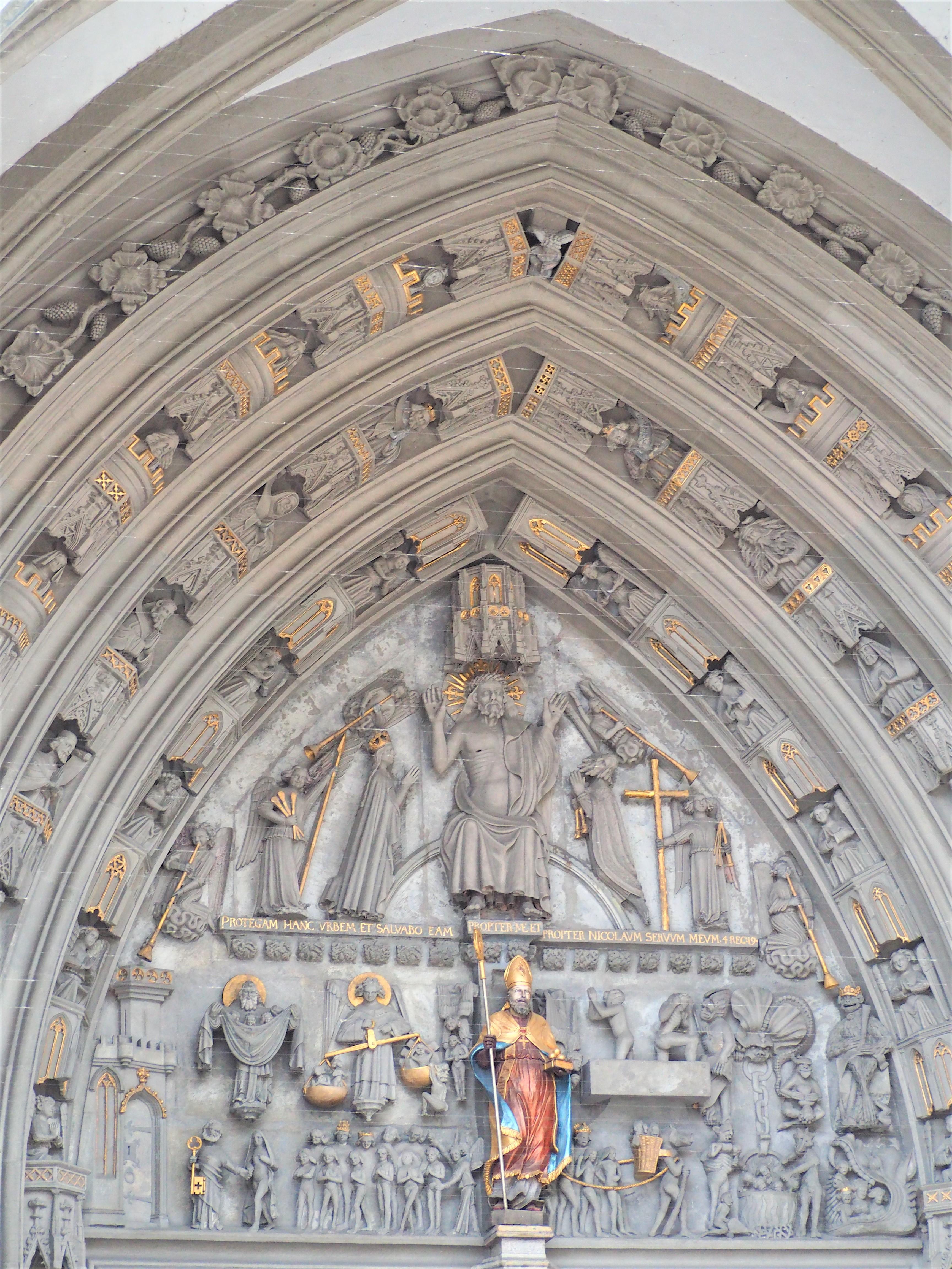 cathédrale st-nicolas fribourg détails