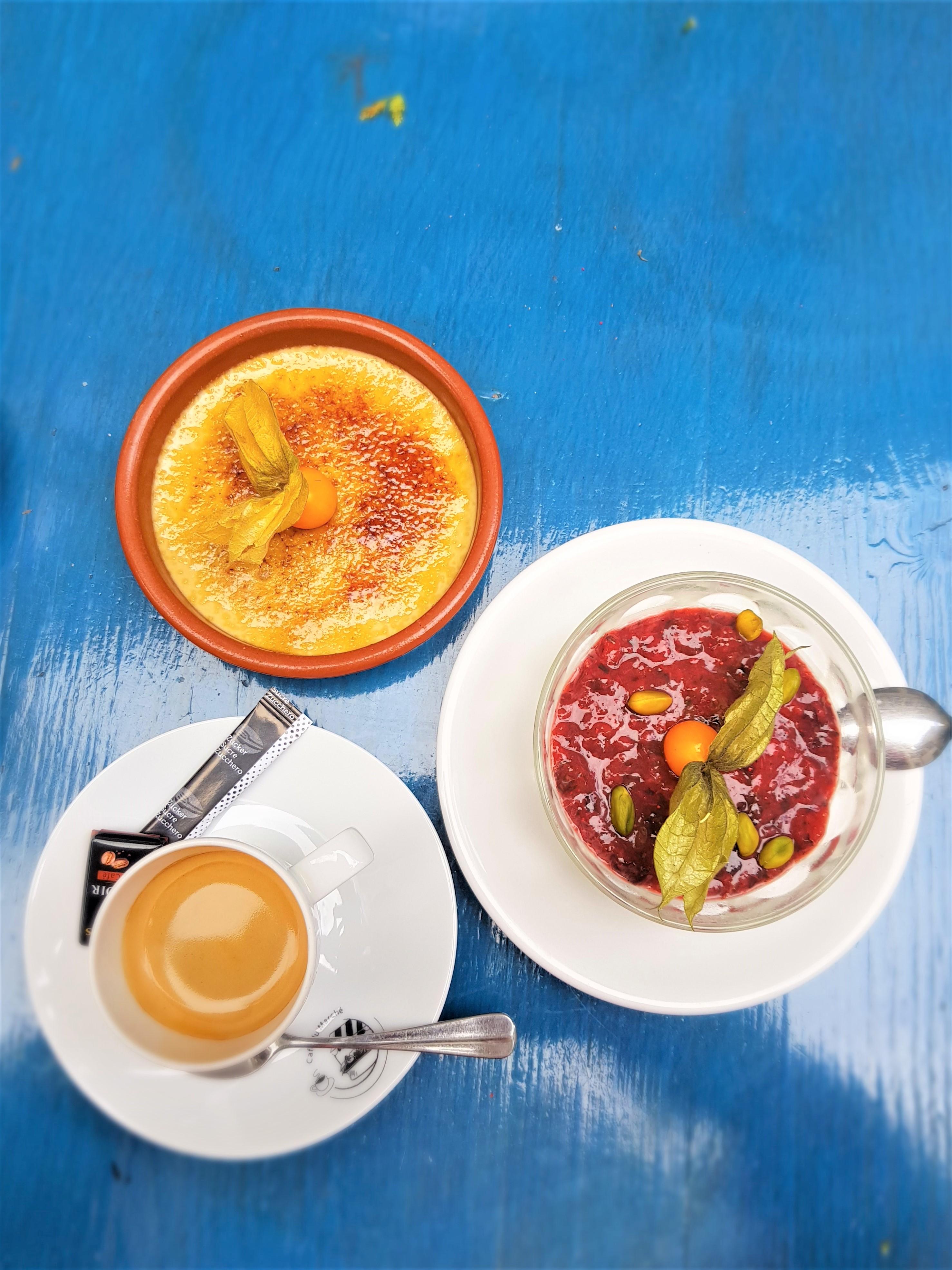 desserts café du marché Clioandco blog voyage Fribourg suisse