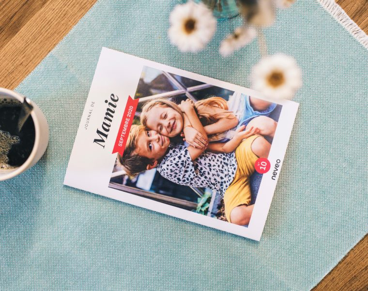 NEVEO application téléphone journal photo papier pour les grands parents confinement