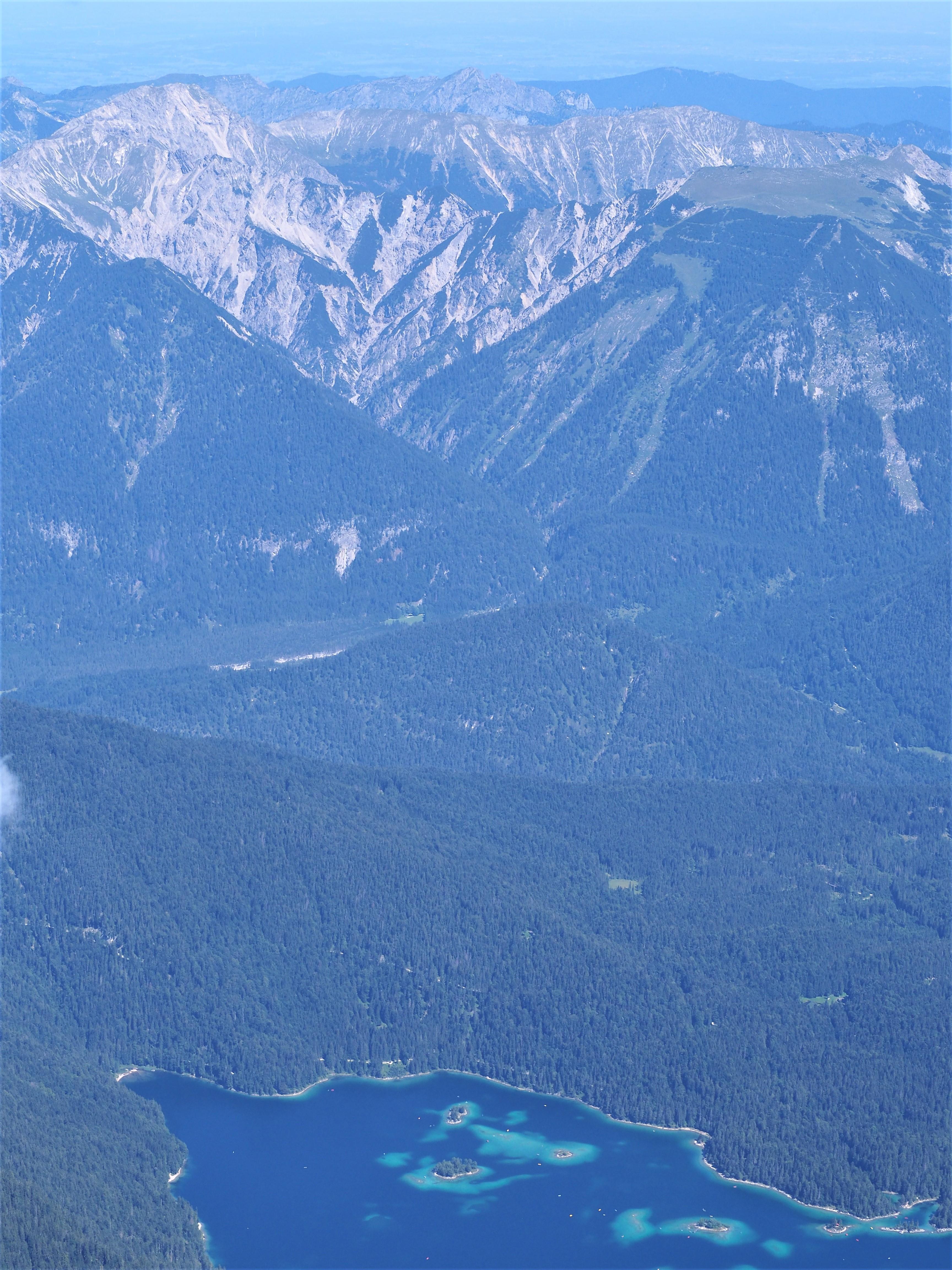 Zugspitze-BLOG-VOYAGE-clioandco-allemagne-autriche-lac-Eibsee-vue-autre
