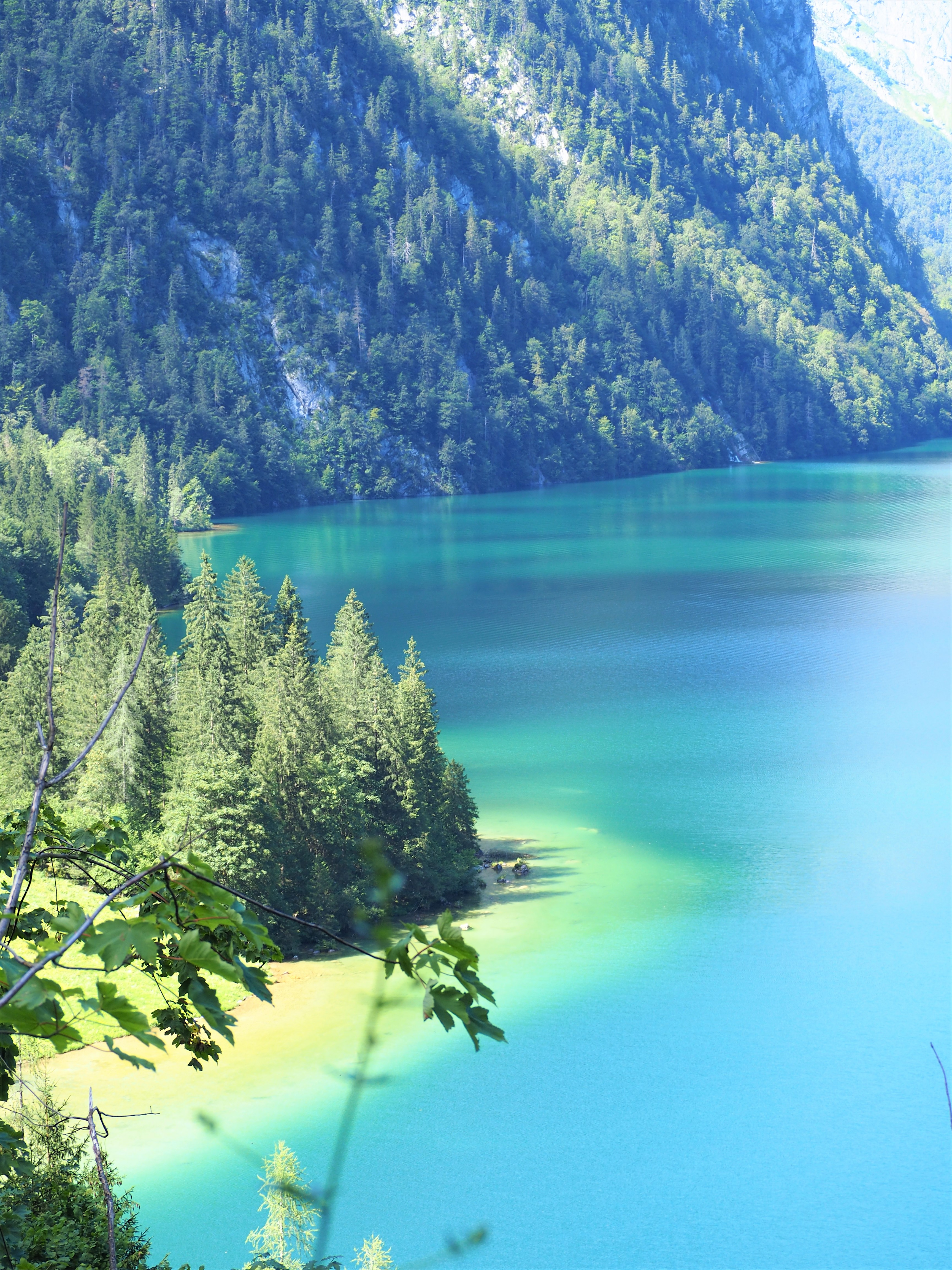lac de Konigssee bavière allemagne voyage blog clioandco