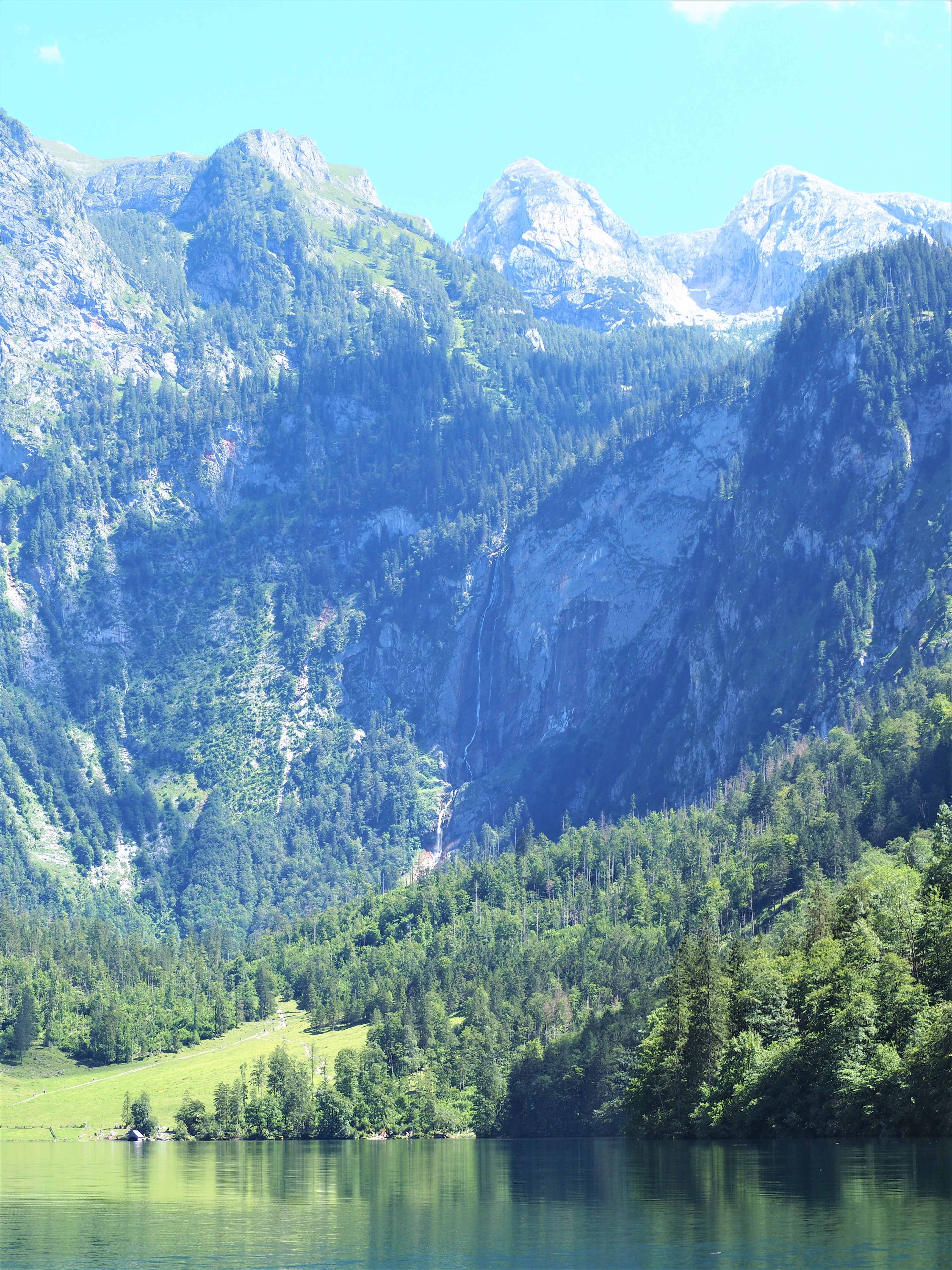 Konigssee-Obersee-allemagne-voyage-cascade-Chute-de-Rothbach