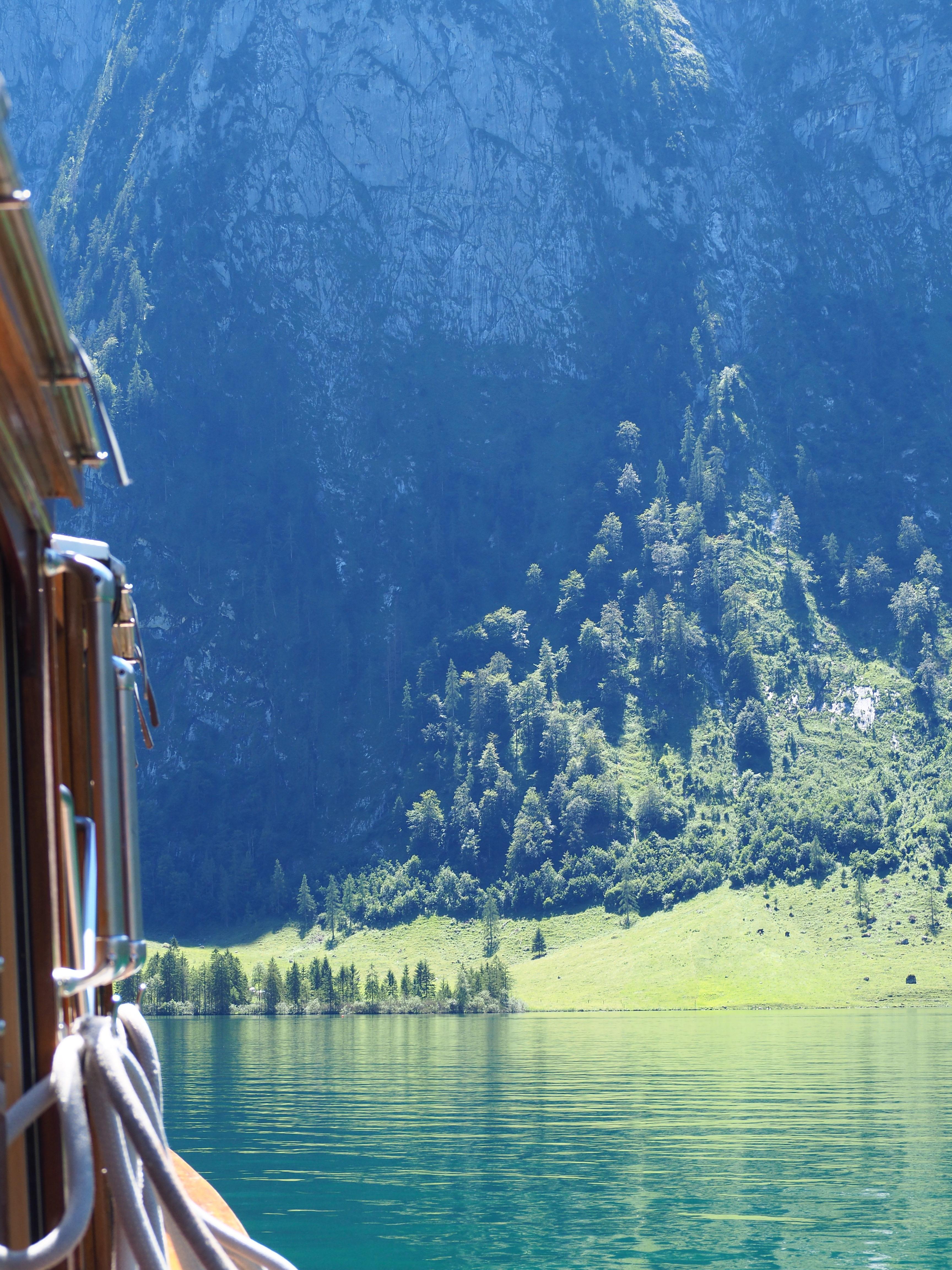 bateau lac Konigssee bavière allemagne voyage clioandco