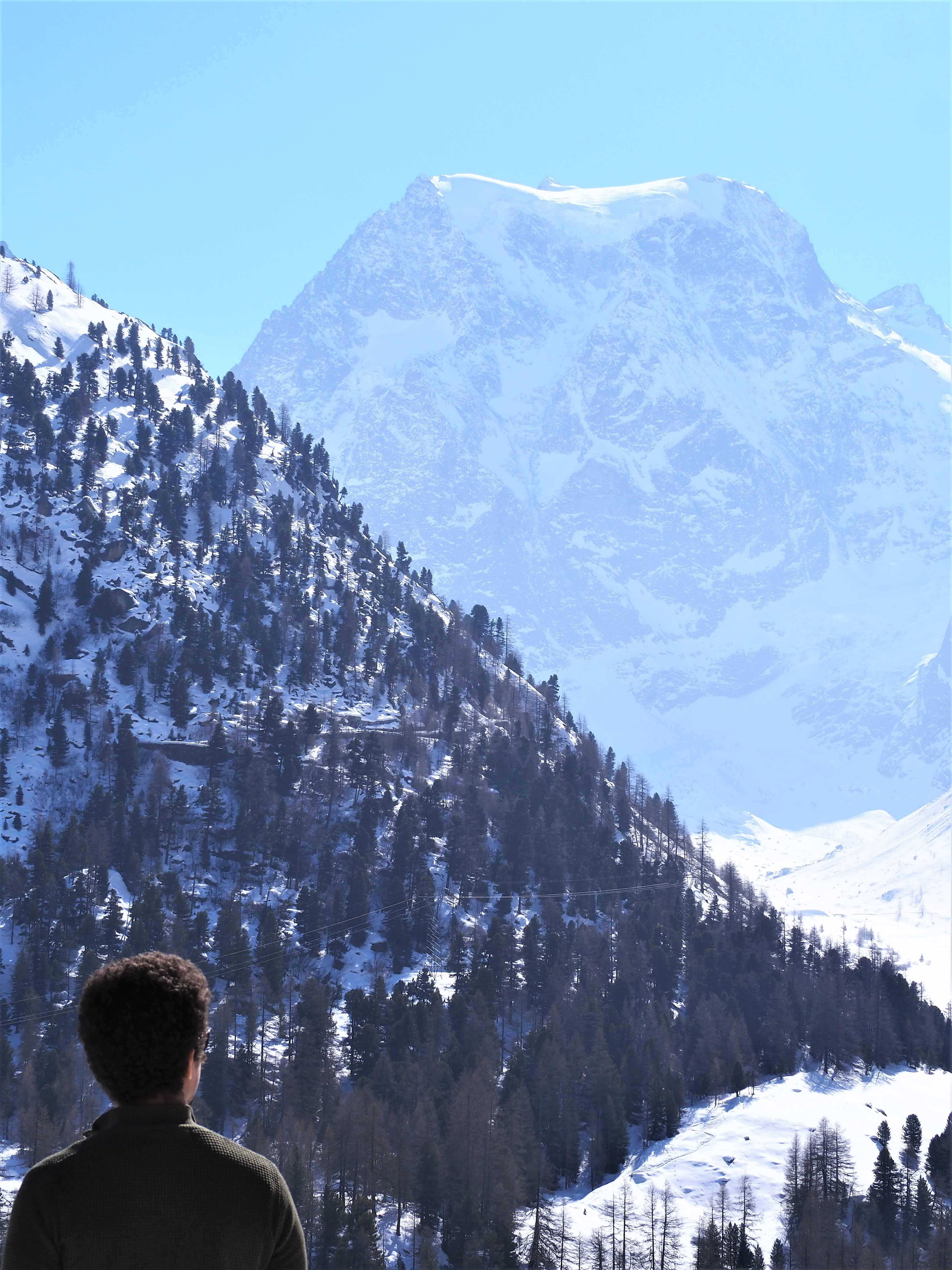Arola suisse valais en hiver