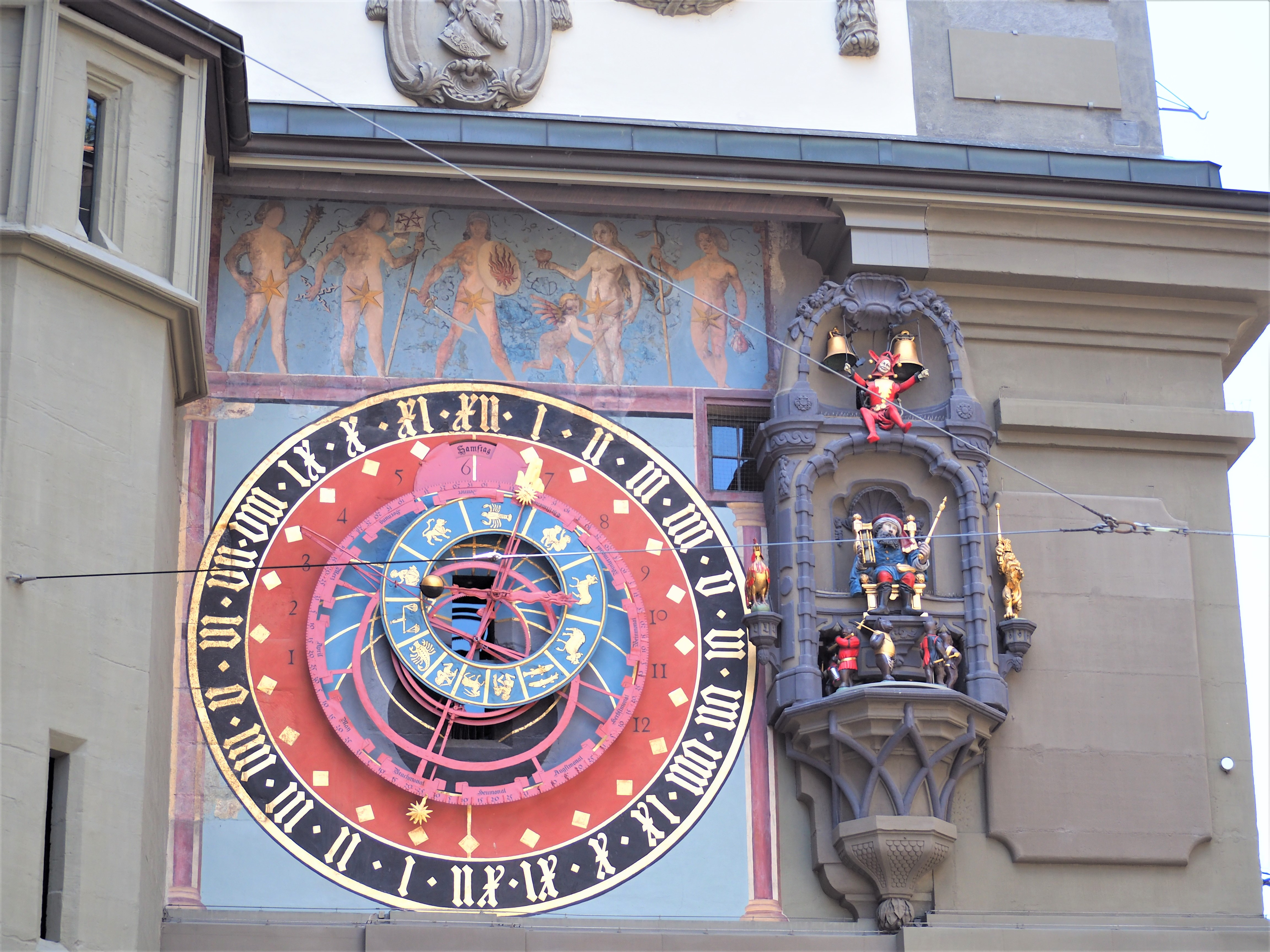 Suiise Berne Zytglogge horloge