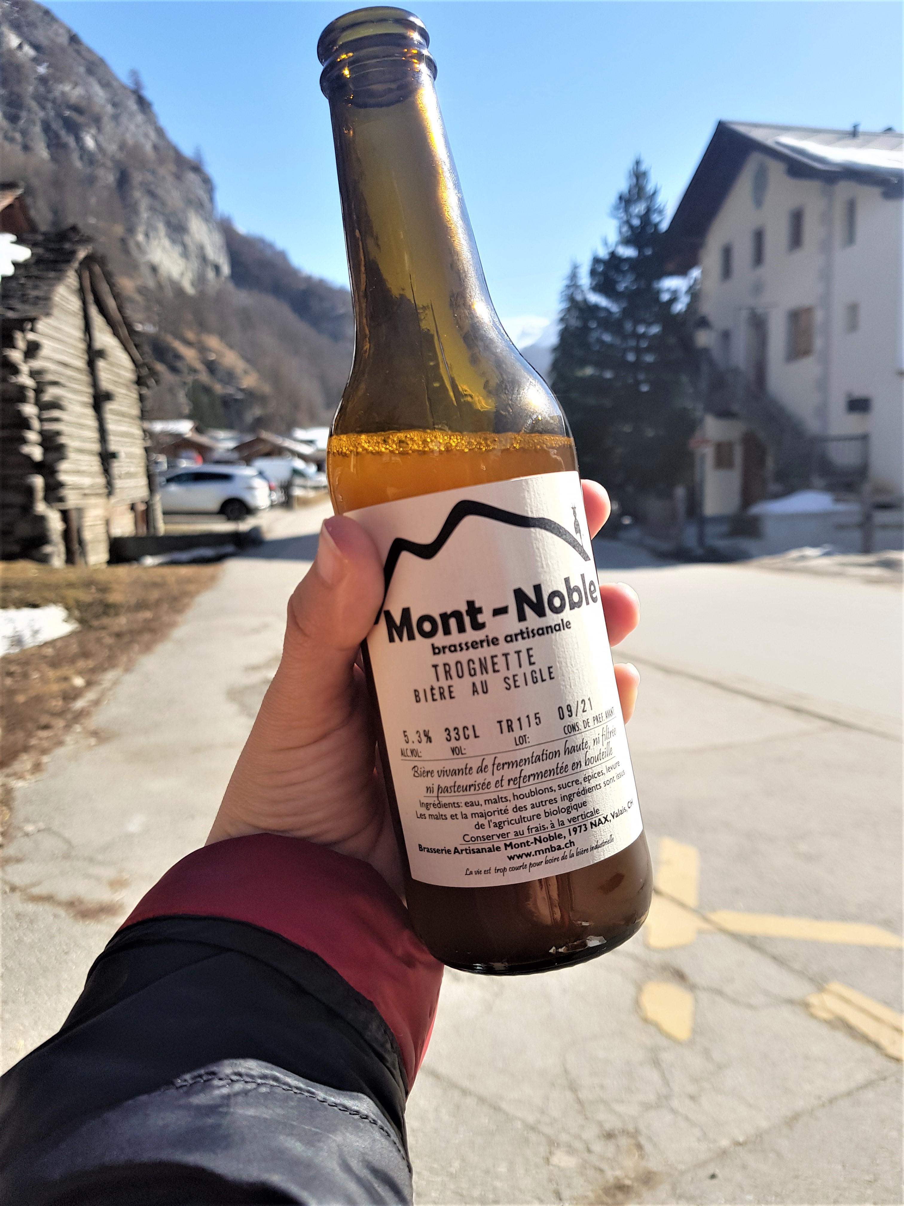 brasserie mont noble suisse nax valais