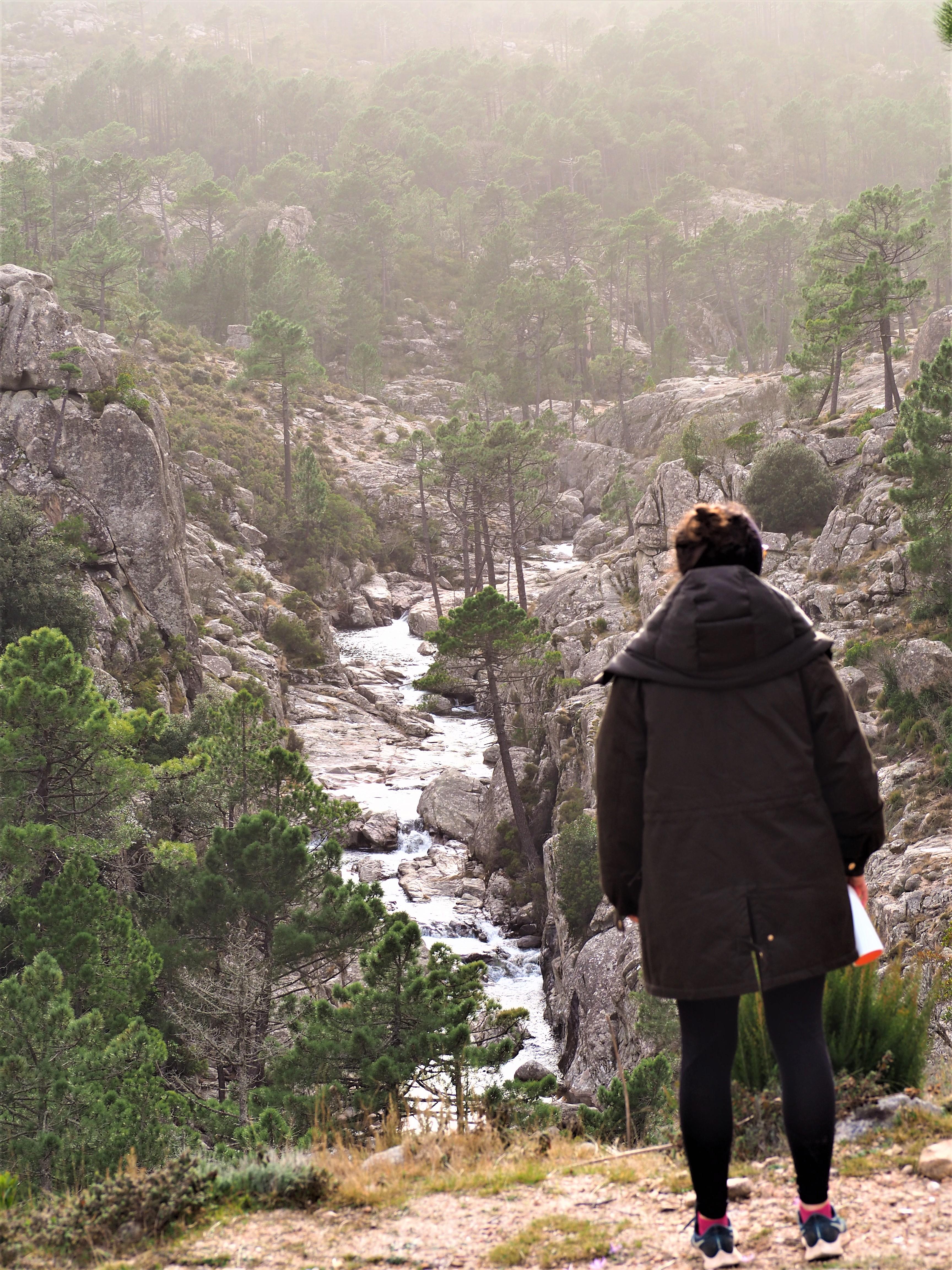 randonnée piscia de ghjaddu cascade