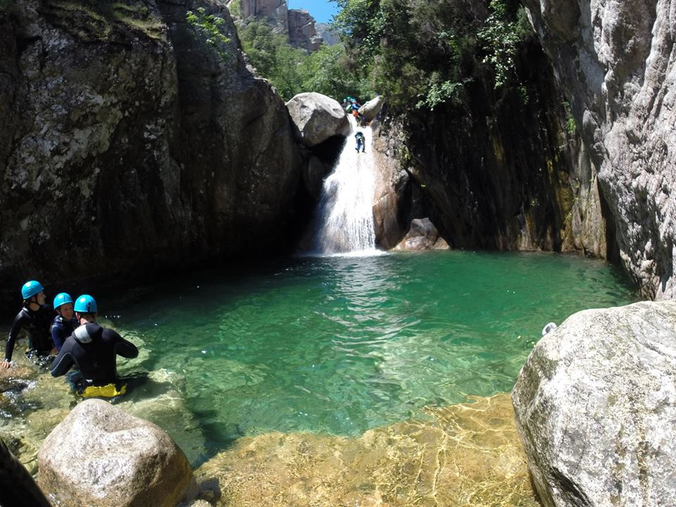 Canyoning corse alta rocca