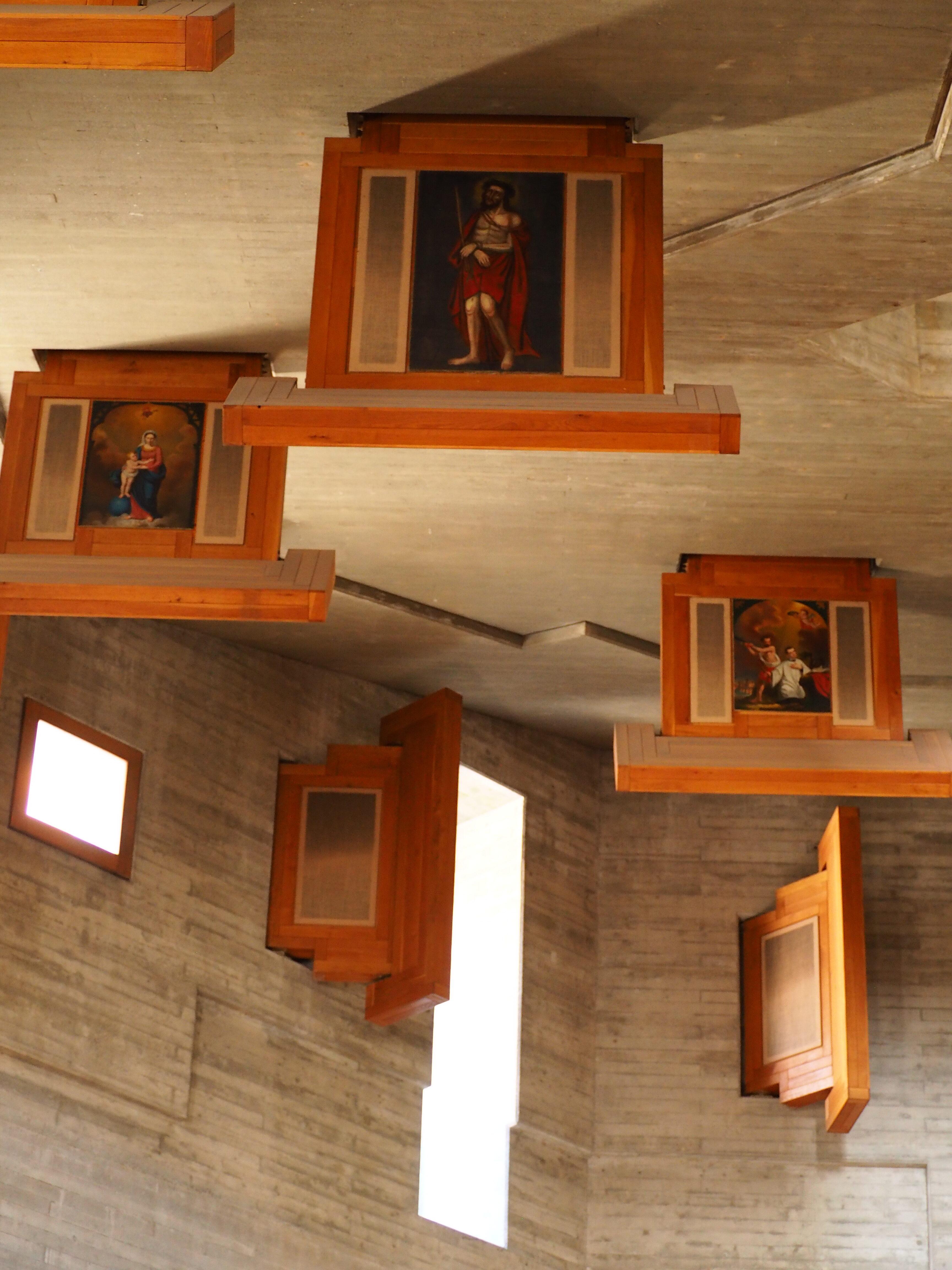 Eglise Saint Nicolas D'Hérémence suisse valais intérieur