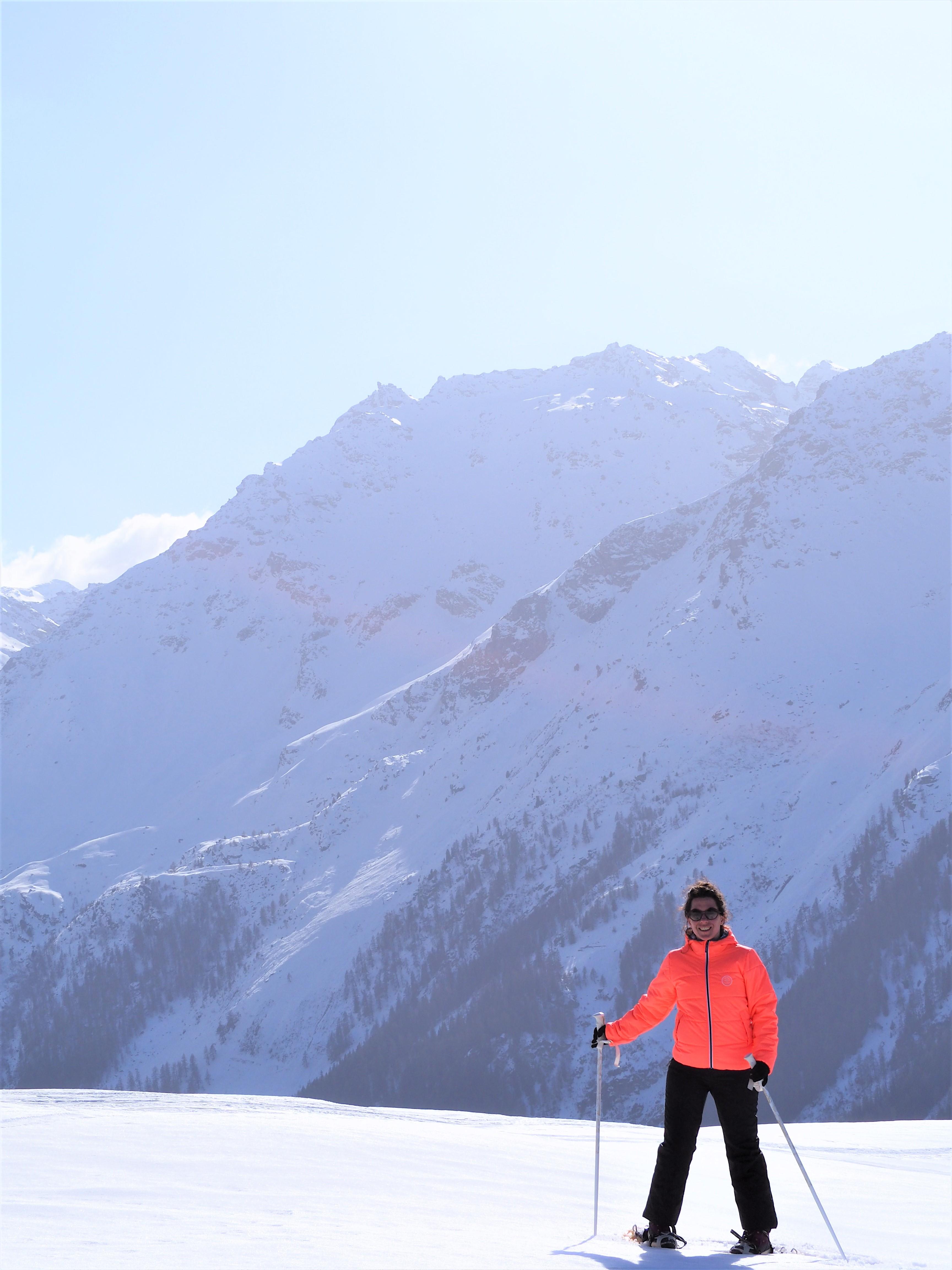 raquettes à mandelon randonnée alpage suisse valais