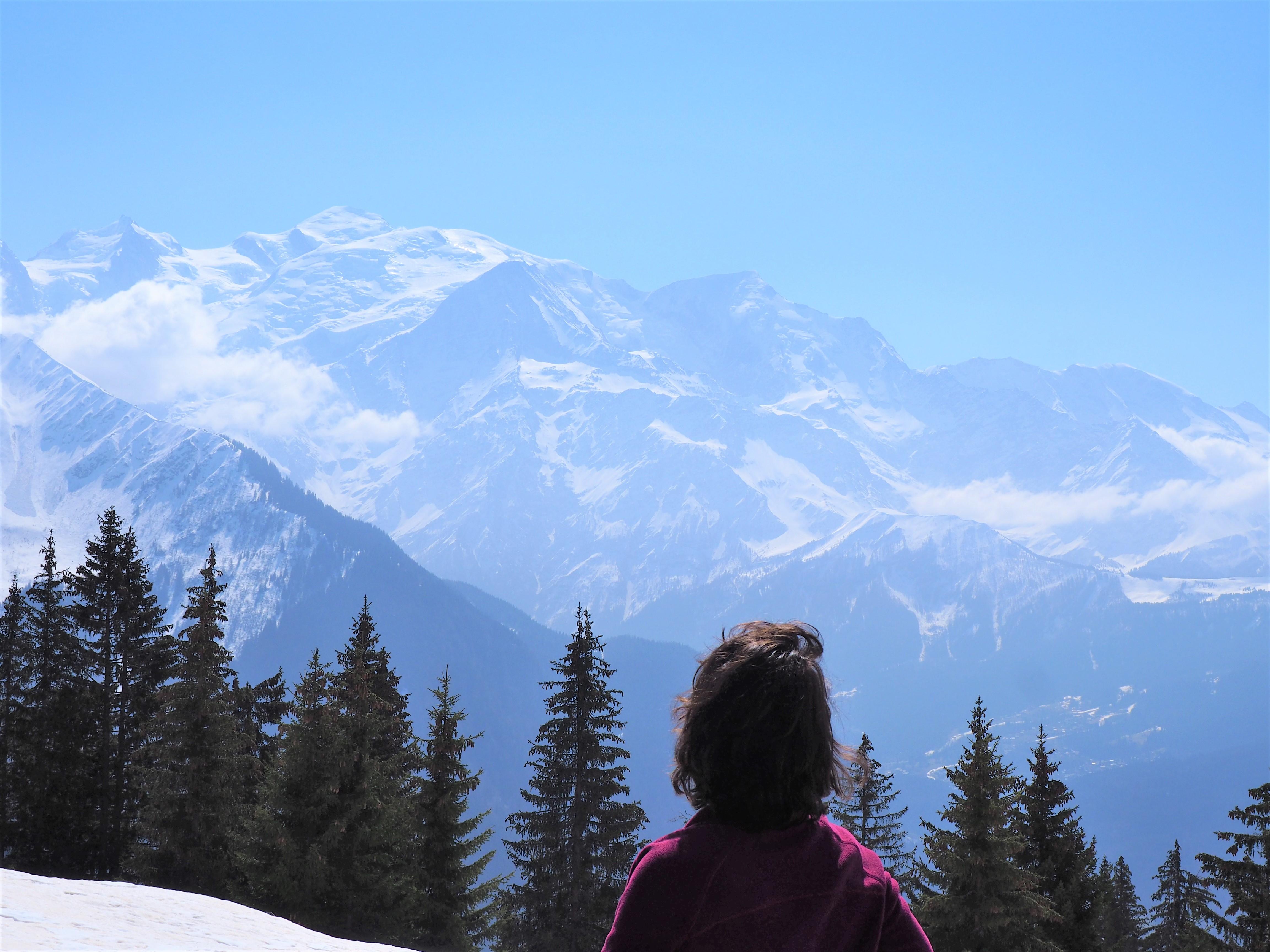 Mont-Blanc, randonnée de Barmus