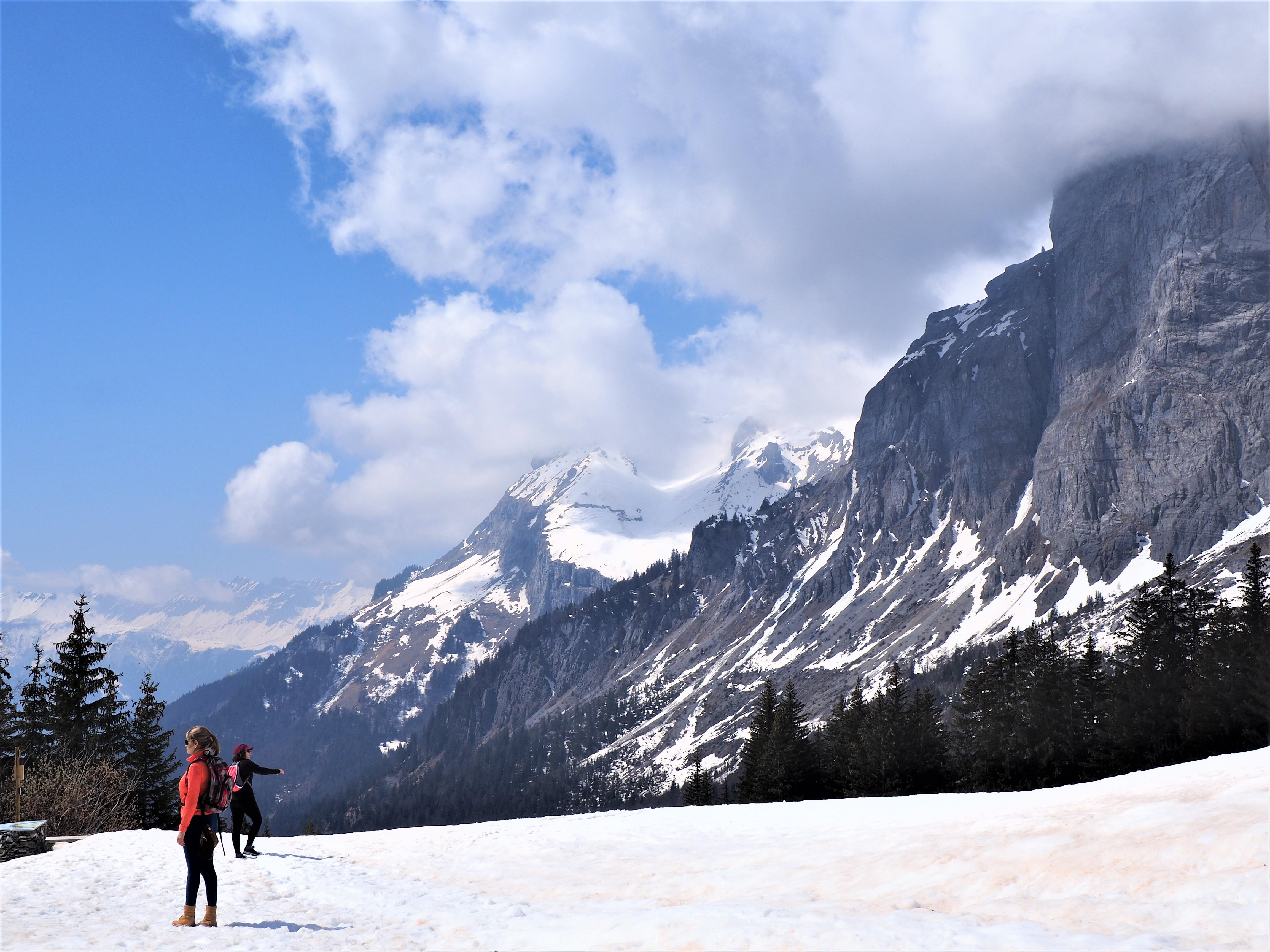Sur les pistes de Ski - Boucle de Barmus