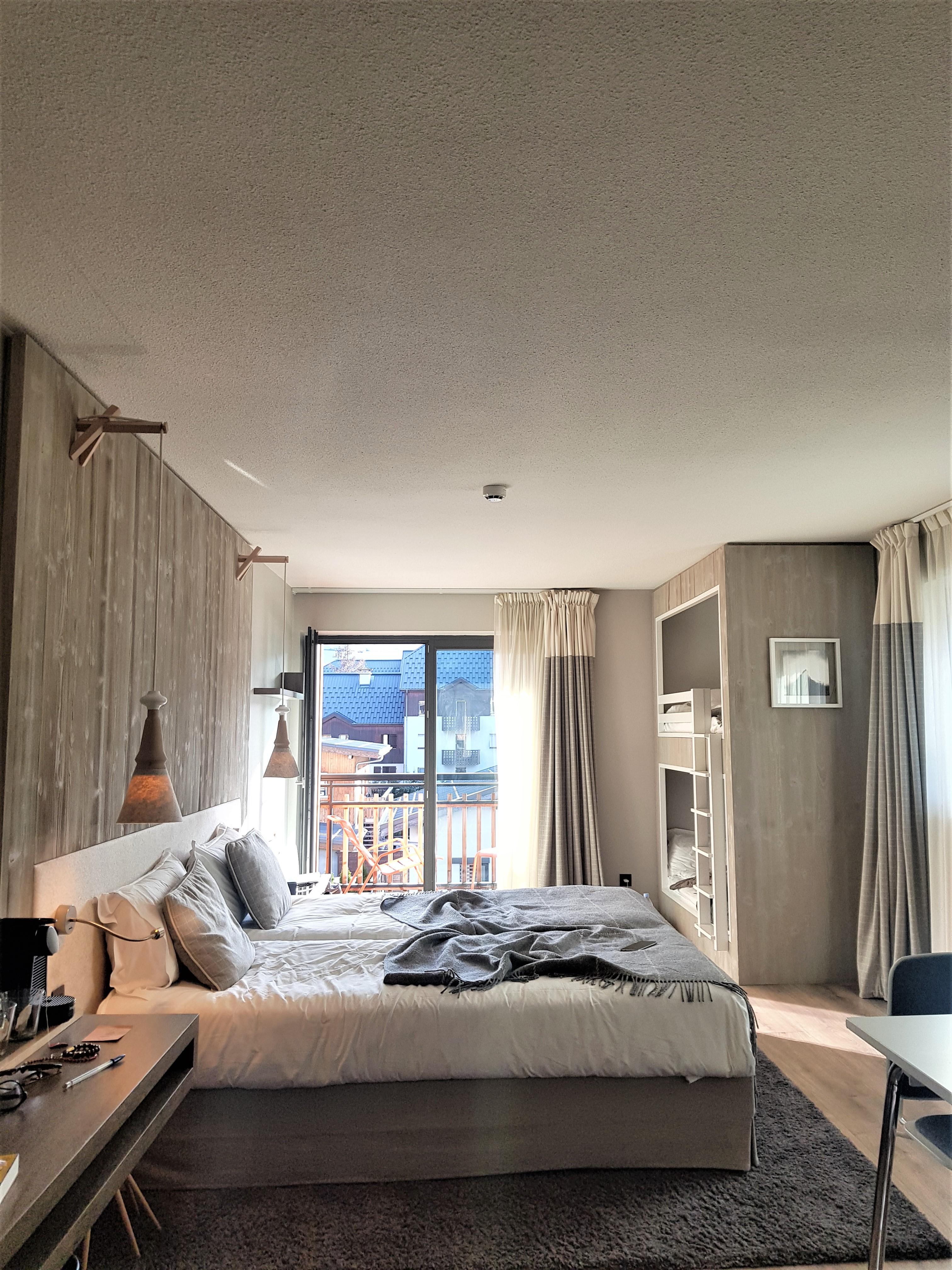 hotel spa chamonix Helioptic