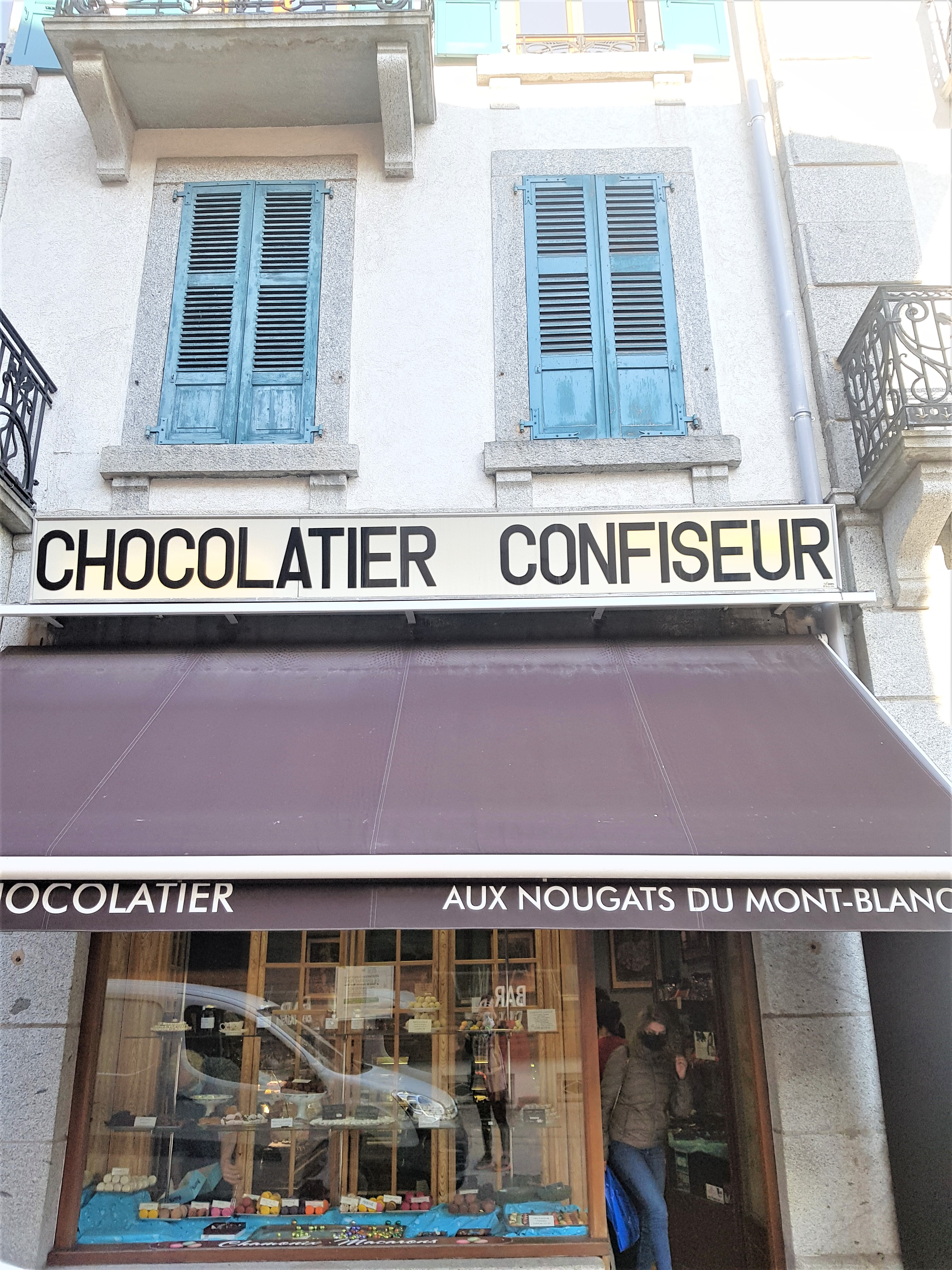 chocolatier chamonix