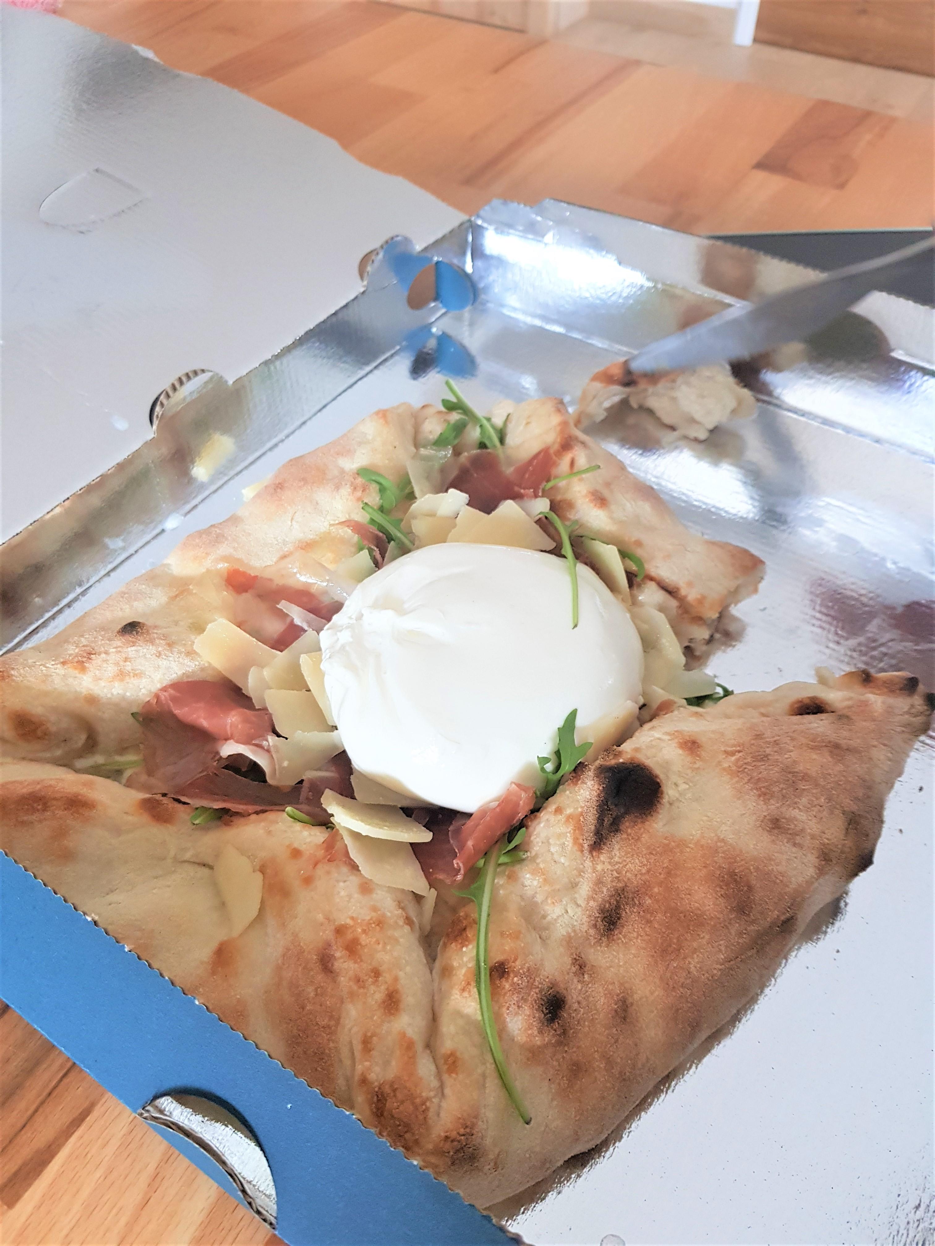 pizza carrée joia chamonix