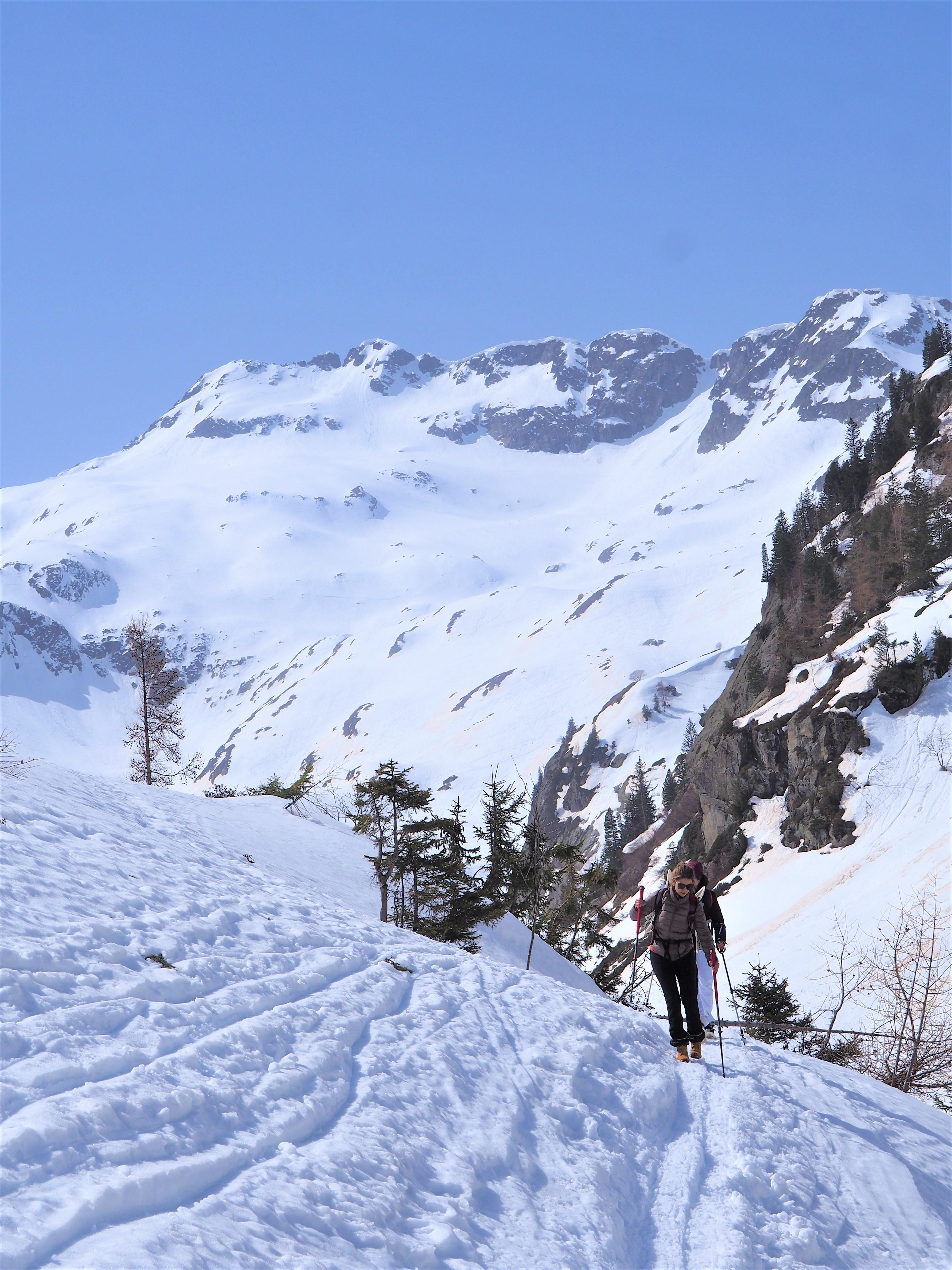 alpes randonnée col de salenton vallée de Berard