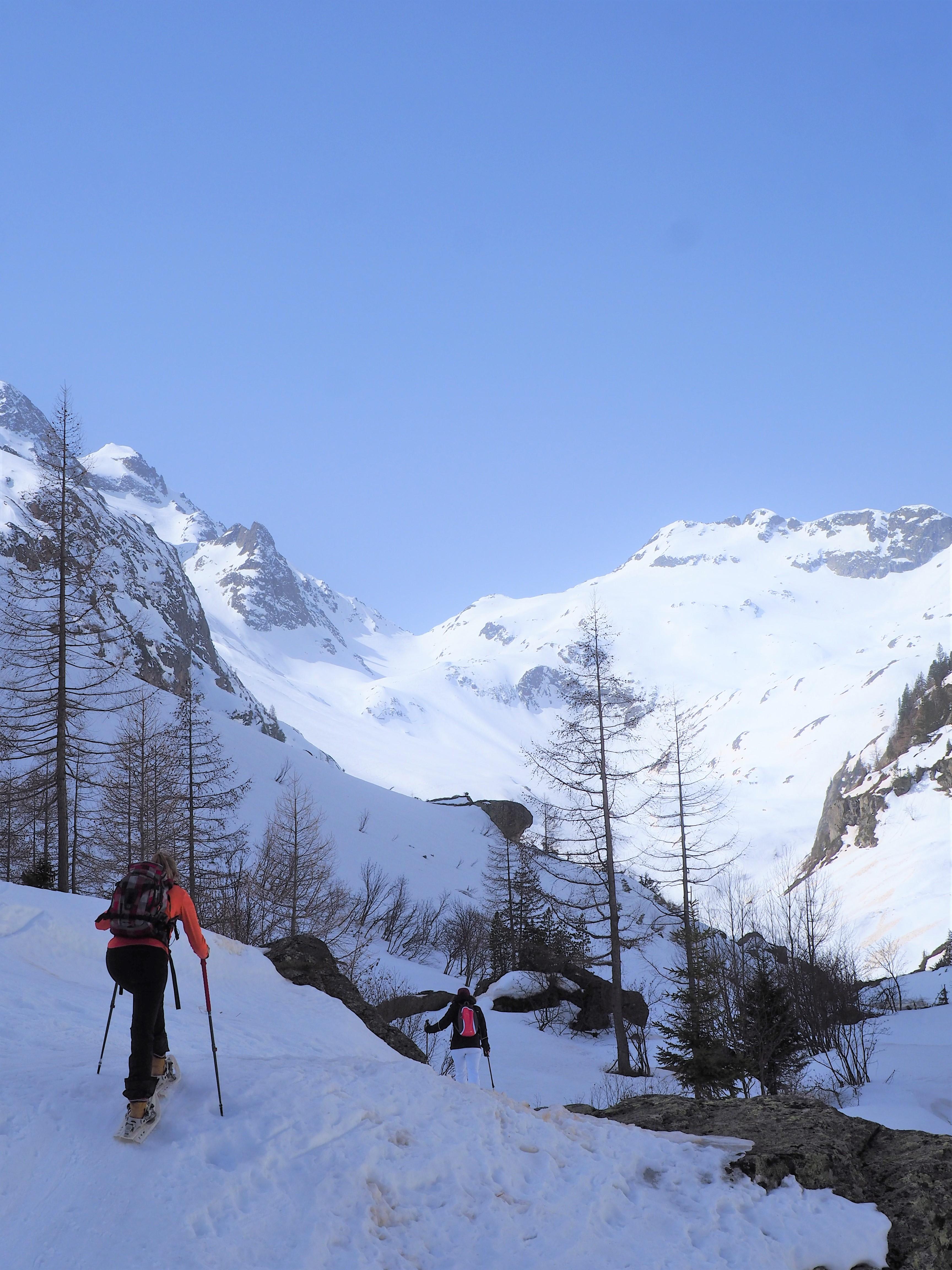 randonnée du col de salenton - alpes - près de chamonix