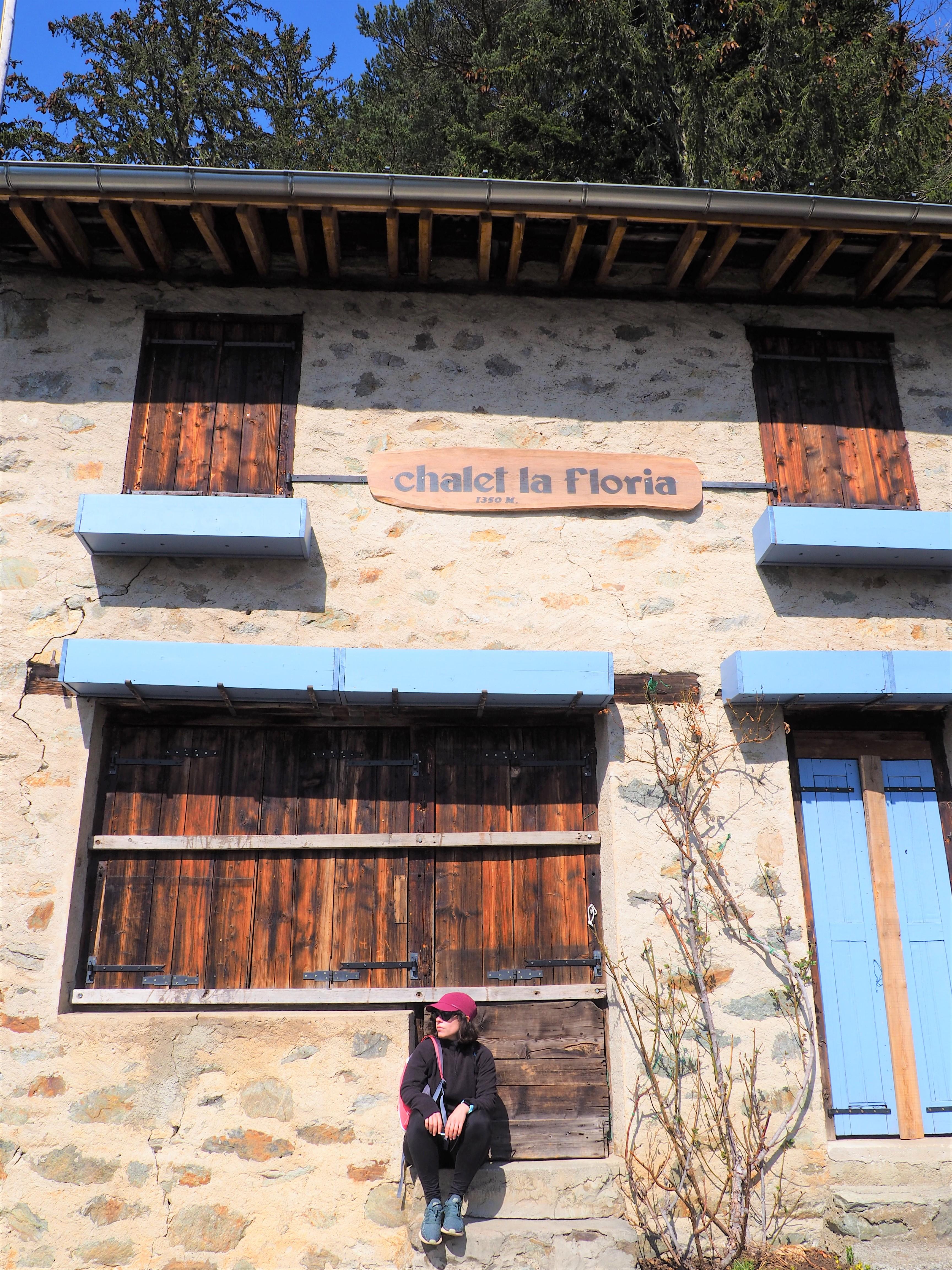 chalet de la Floria - randonnée - Les Praz de Chamonix